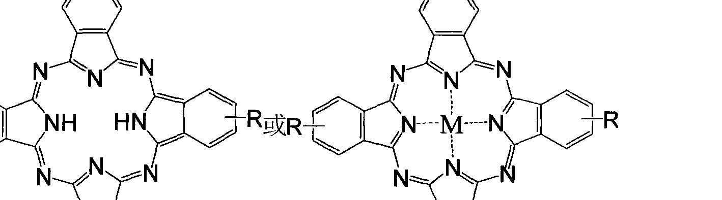 所述的寡聚苯乙烯衍生物的结构式是