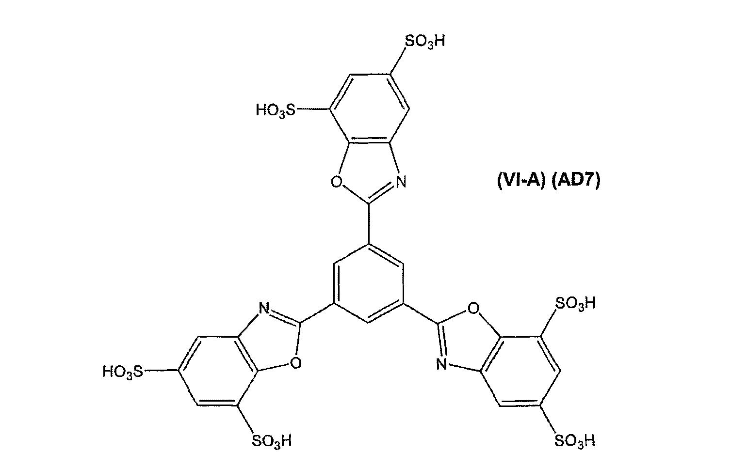 聚芳香聚阴离子置换剂化合物是具有以下结构式