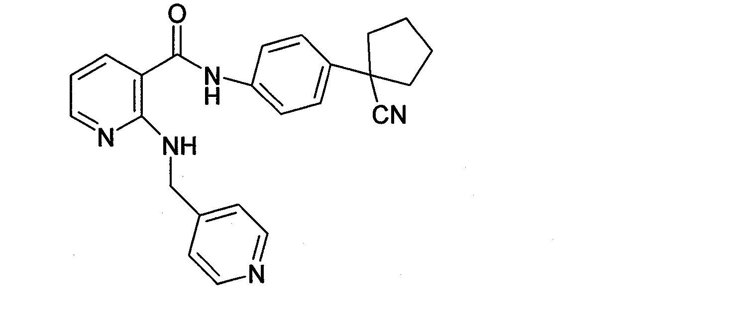 [0016] 化合物A [0017] 特别地,所述化合物A或其药学上可接受的盐的人日用量为lOO-lOOOmg,所述厄洛替尼或其药学上可接受的盐的人日用量为37. 5-450mg,所述吉非替尼或其药学上可接受的盐的人日用量为62. 5-750mg,所述药物组合物为片剂、硬胶囊剂、软胶囊剂、口服溶液剂、缓释剂、滴丸剂、冲剂、颗粒剂或缓释微丸,所述药物组合物是以一日一次、一日两次或一日三次给药的药用组合物,所述药学上可接受的盐选自磷酸盐、盐酸盐、硫酸盐、硝酸盐、氢溴酸盐、甲磺酸盐、马来酸盐、酒石酸盐、苯甲酸
