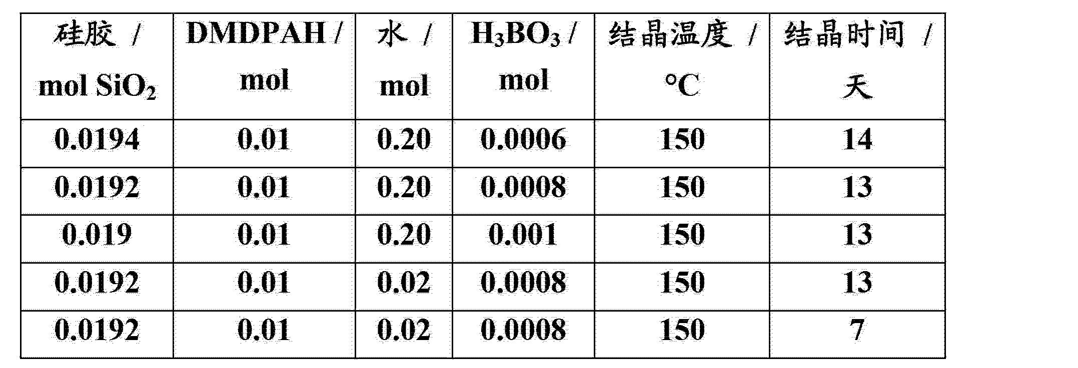 :使用rub-41结构的不含杂原子的架状硅酸盐