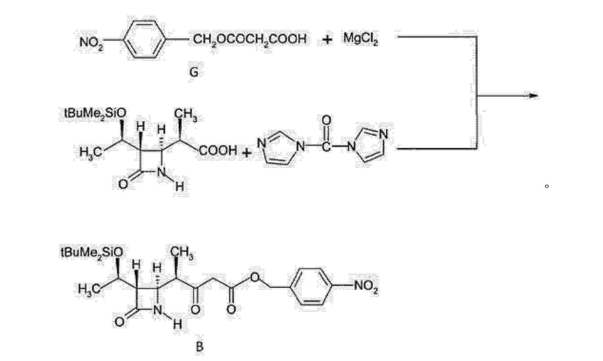 式b和式c化合物的结构式如下: [0003] 专利cn101906115 (申请人:浙江