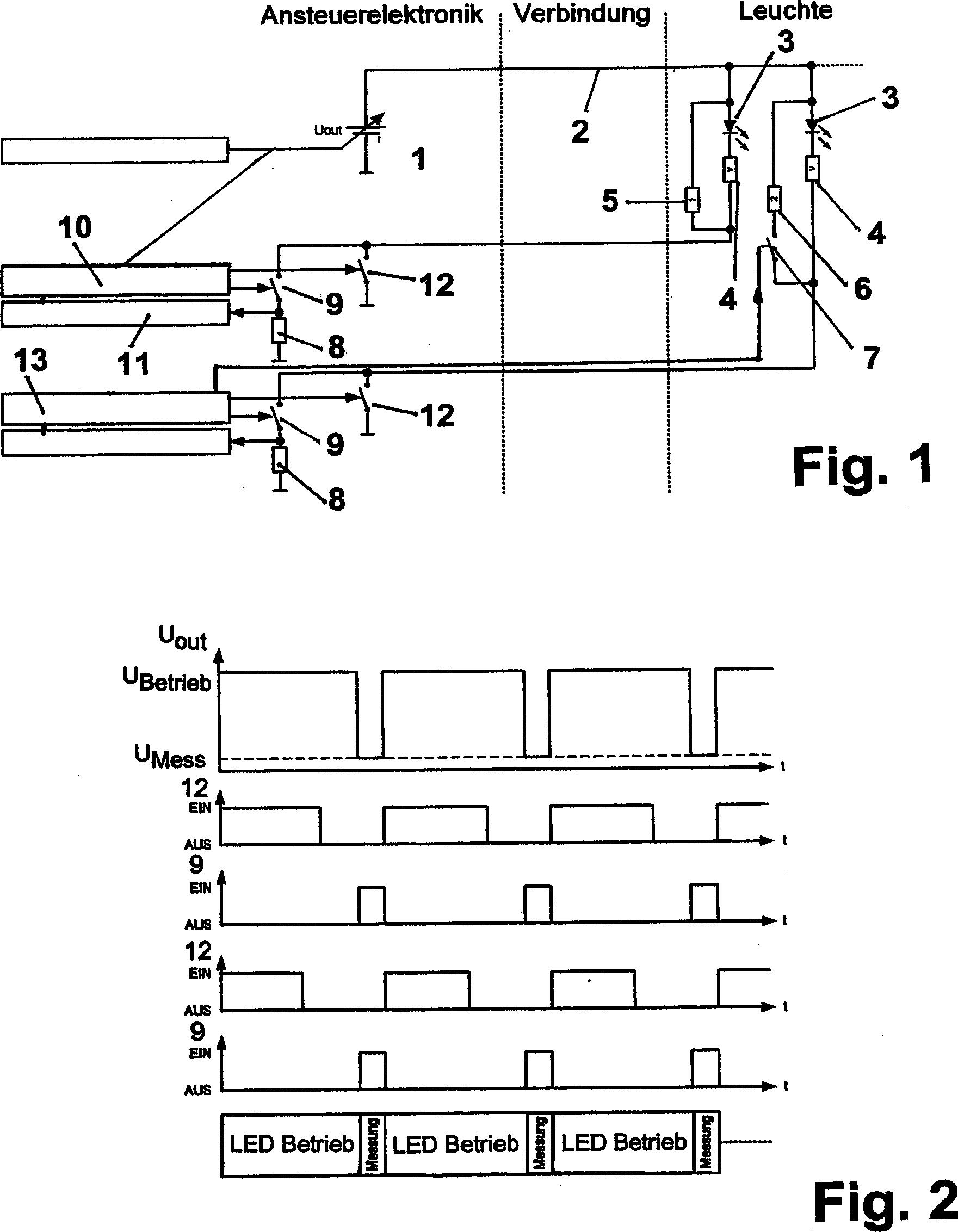 patent de102007009104b4 steuerschaltung zum getakteten ansteuern mindestens einer leuchtdiode. Black Bedroom Furniture Sets. Home Design Ideas