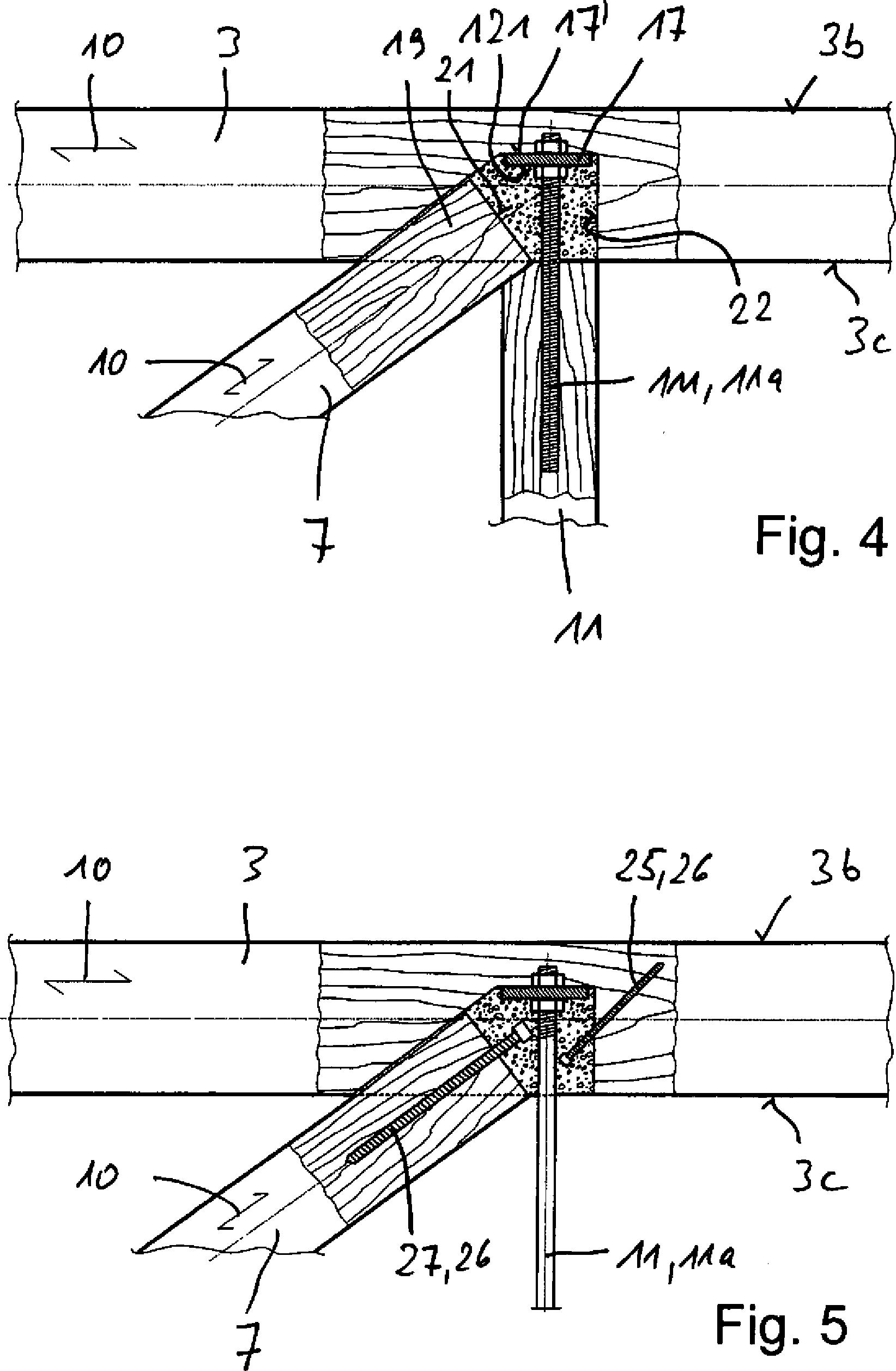 Patent de102009022828b4 fachwerktr ger einschlie lich for Zugstab druckstab