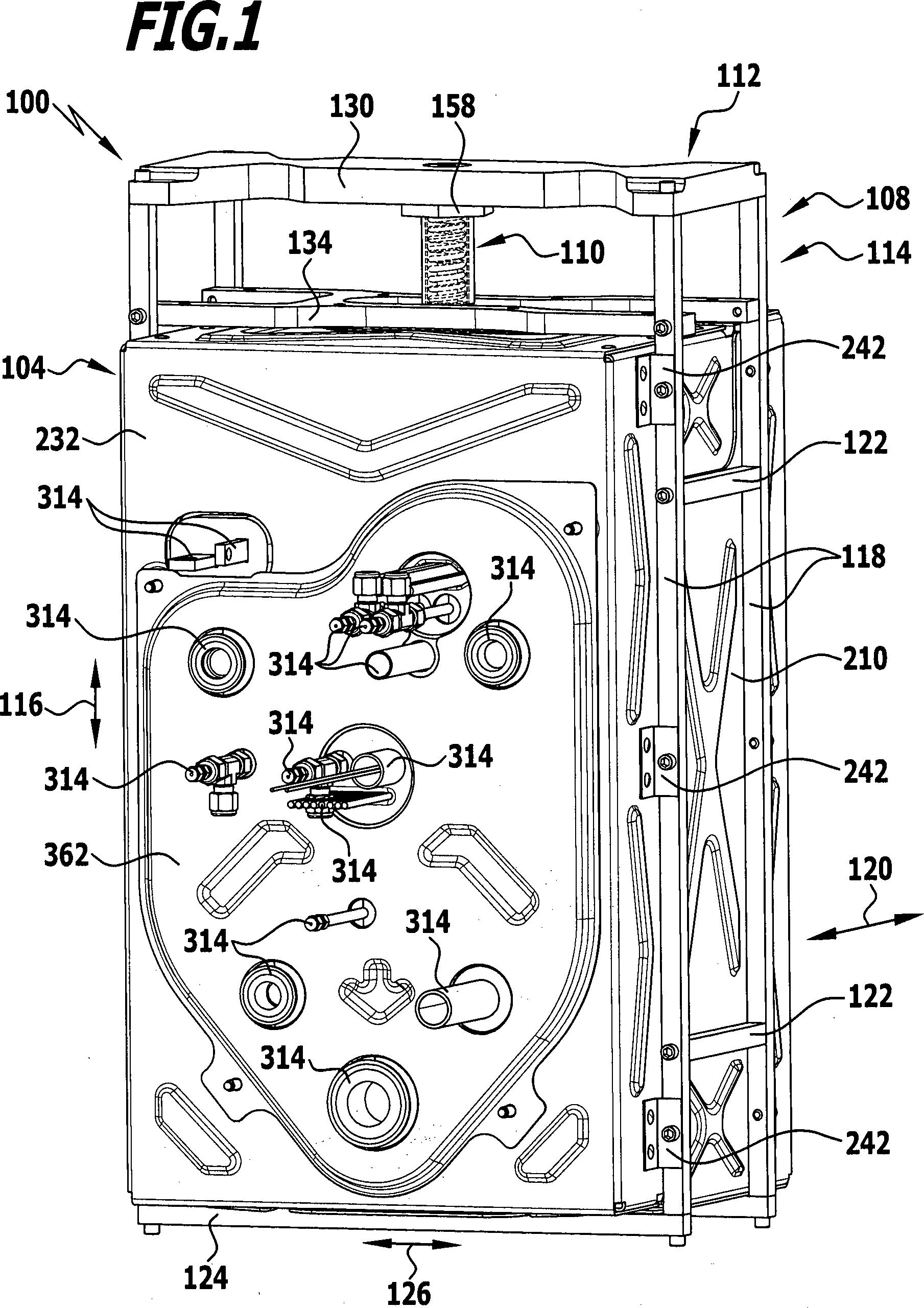 Patent DE102009034141A1 - Gehäuse für eine elektrochemische ...