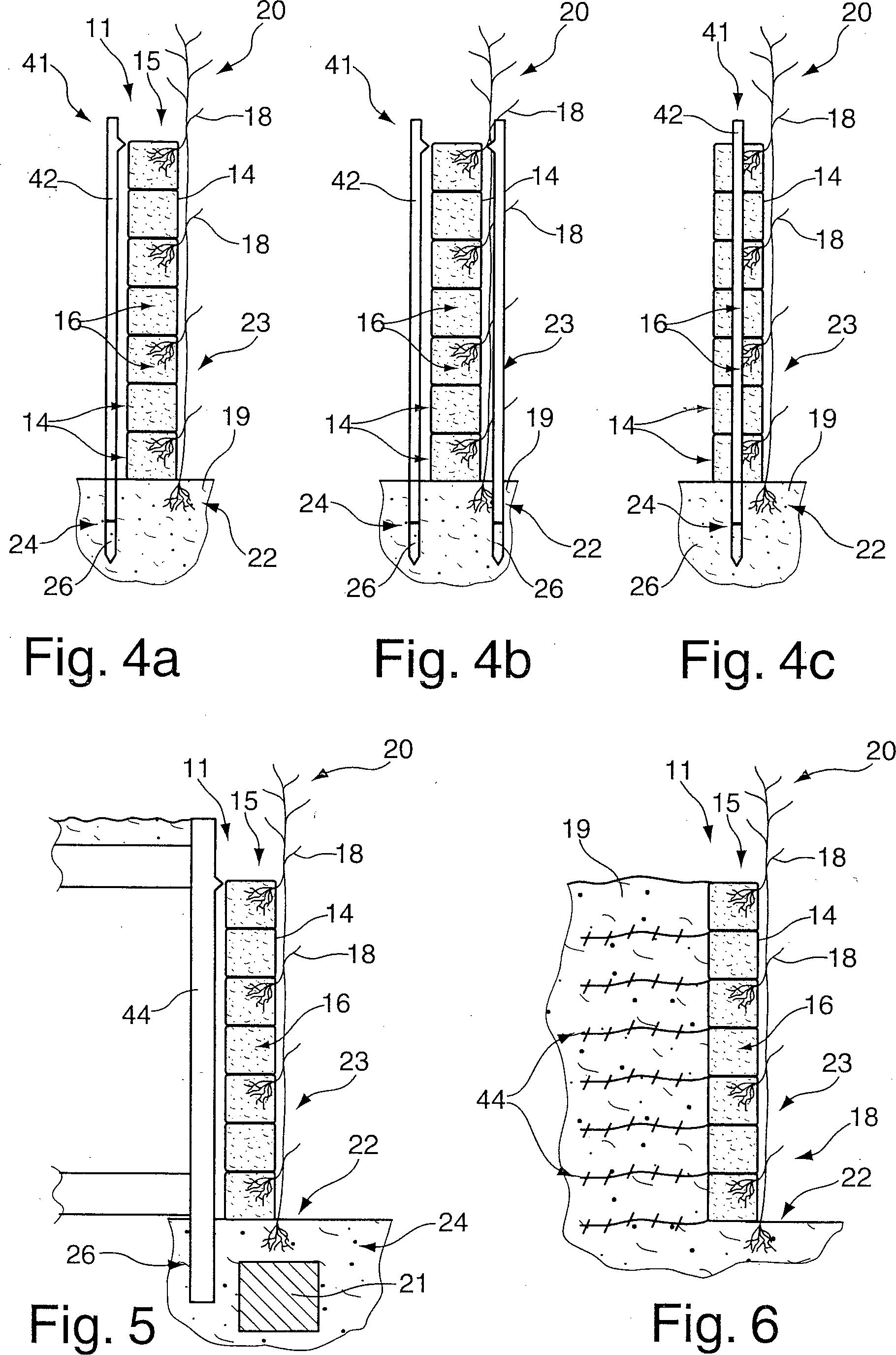 patent de102010018586a1 verfahren zur herstellung eines bauwerkes und ein bauwerk aus. Black Bedroom Furniture Sets. Home Design Ideas