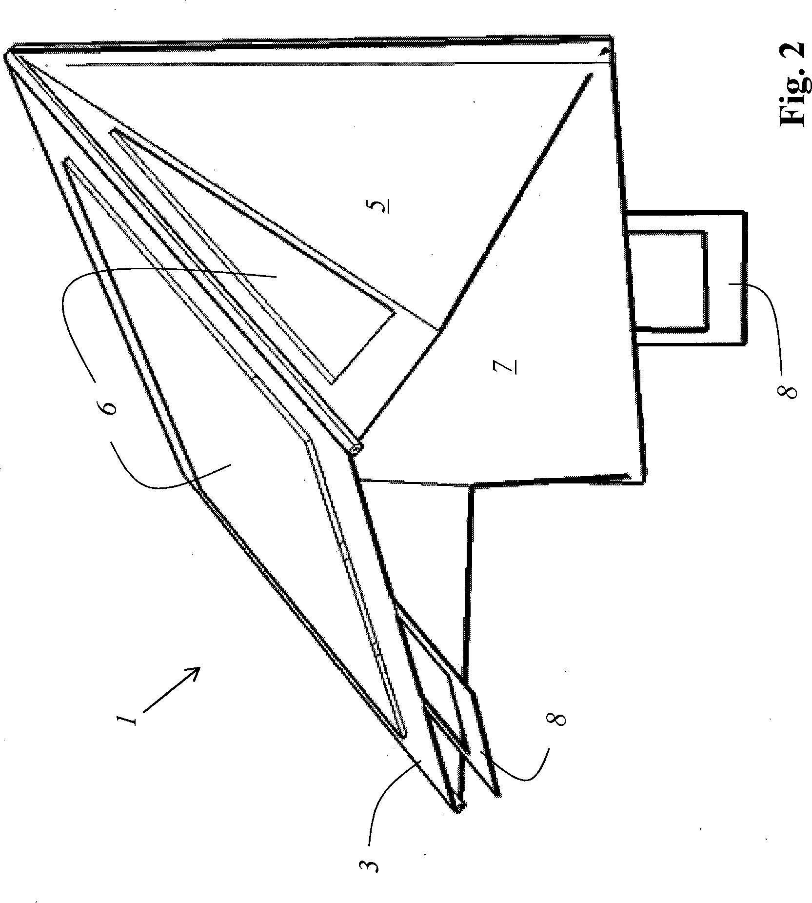Patente DE A1 Sonnen und oder Sichtschutzblende mit