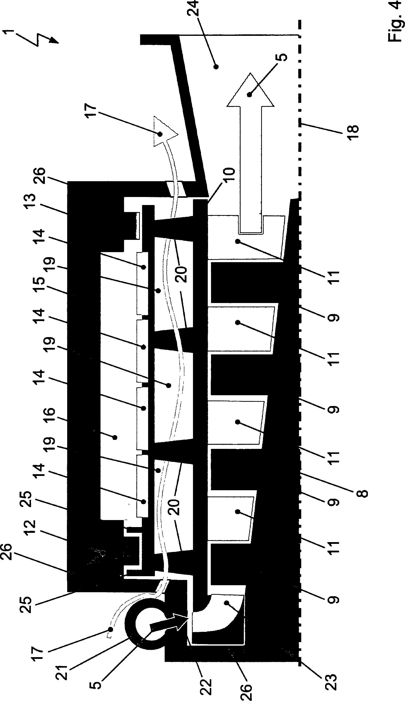 Patent DE A1 Turbo generator unit for airplane has