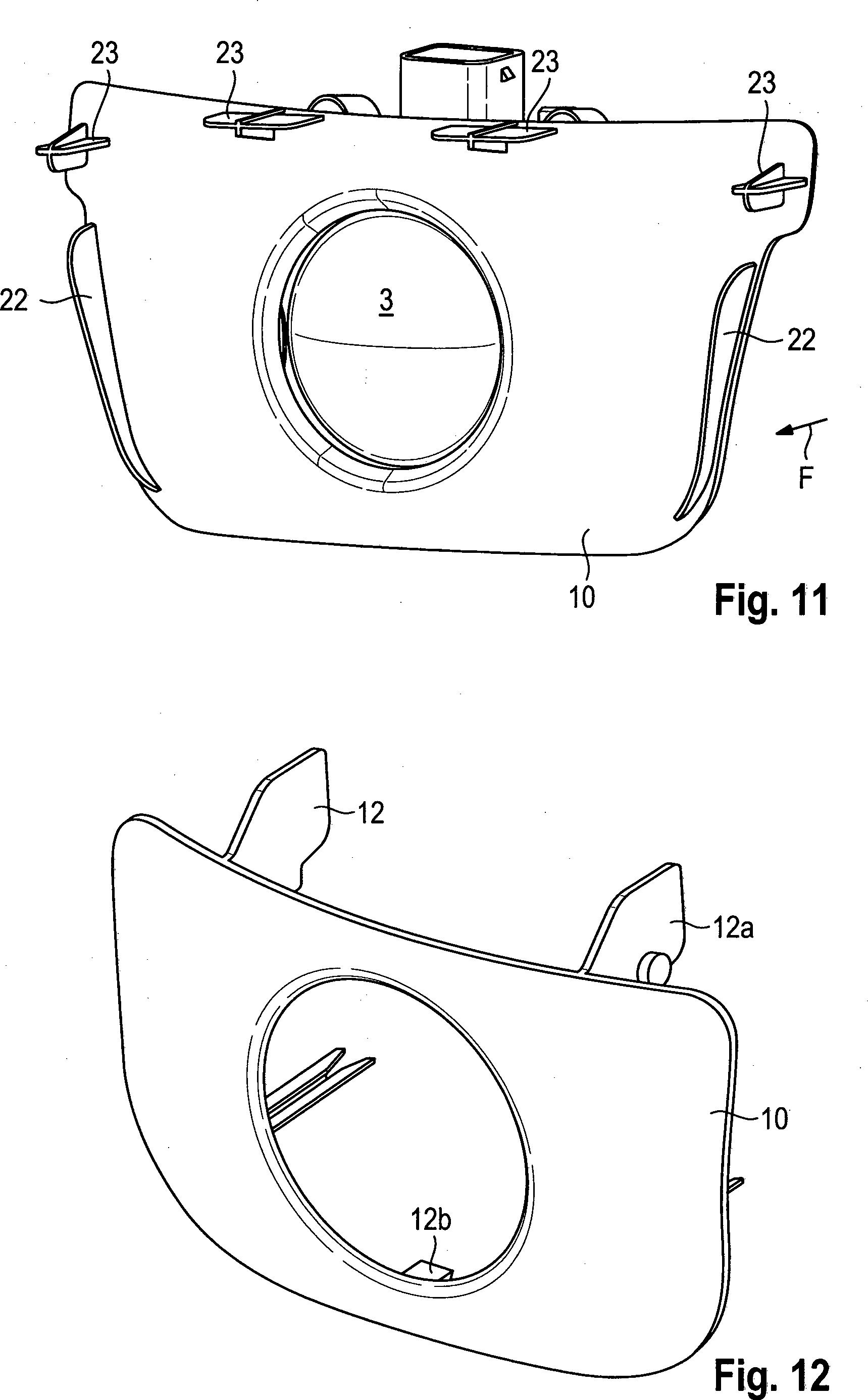 Patente DE A1 Sichtschutzblende für eine