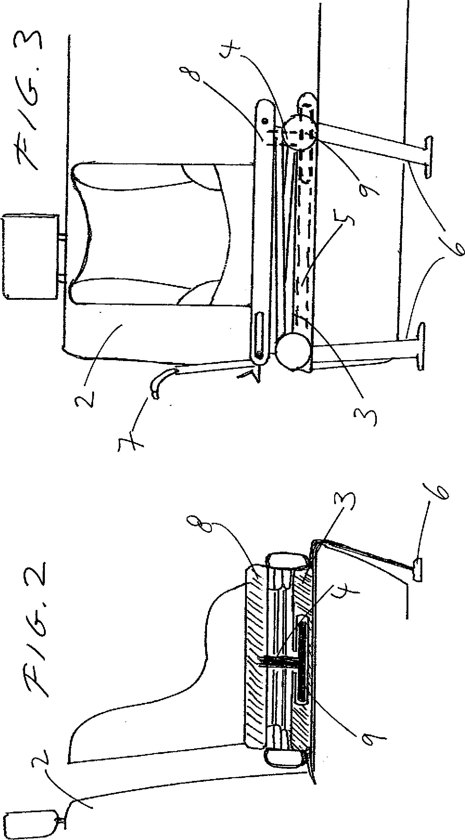 patent de102011116376a1 faltbares fahrgestell f r. Black Bedroom Furniture Sets. Home Design Ideas