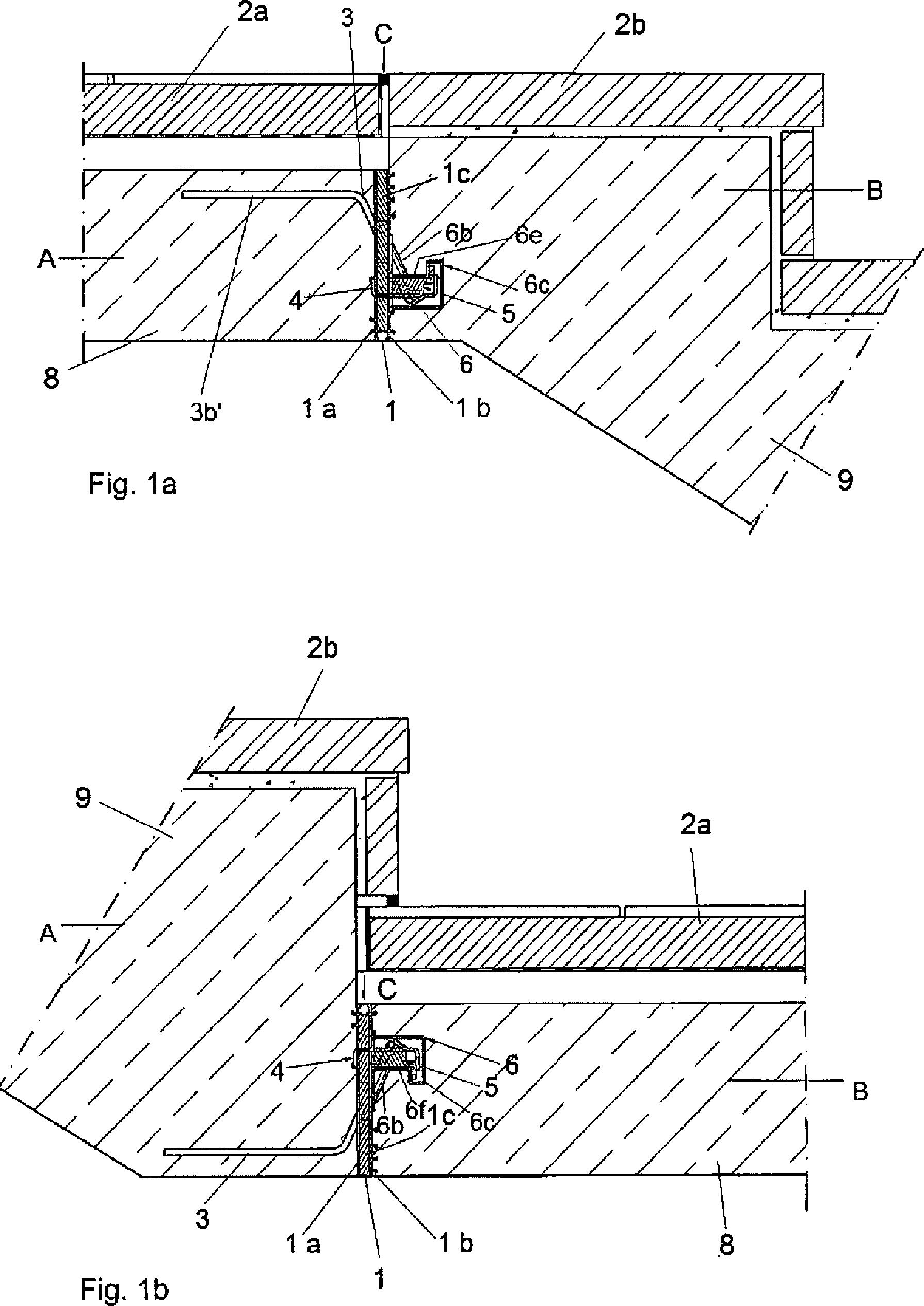 patent de102012002168a1 bauelement zum einbau in. Black Bedroom Furniture Sets. Home Design Ideas