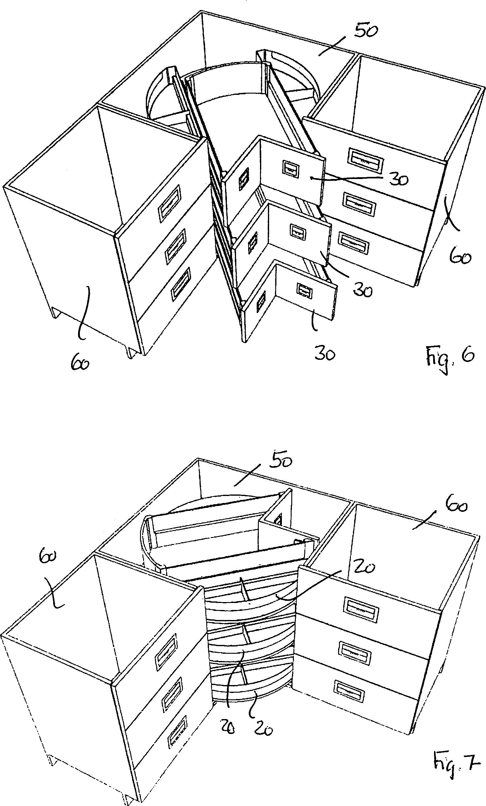 Rondell Für Küchenschrank: Eckschrank Küche