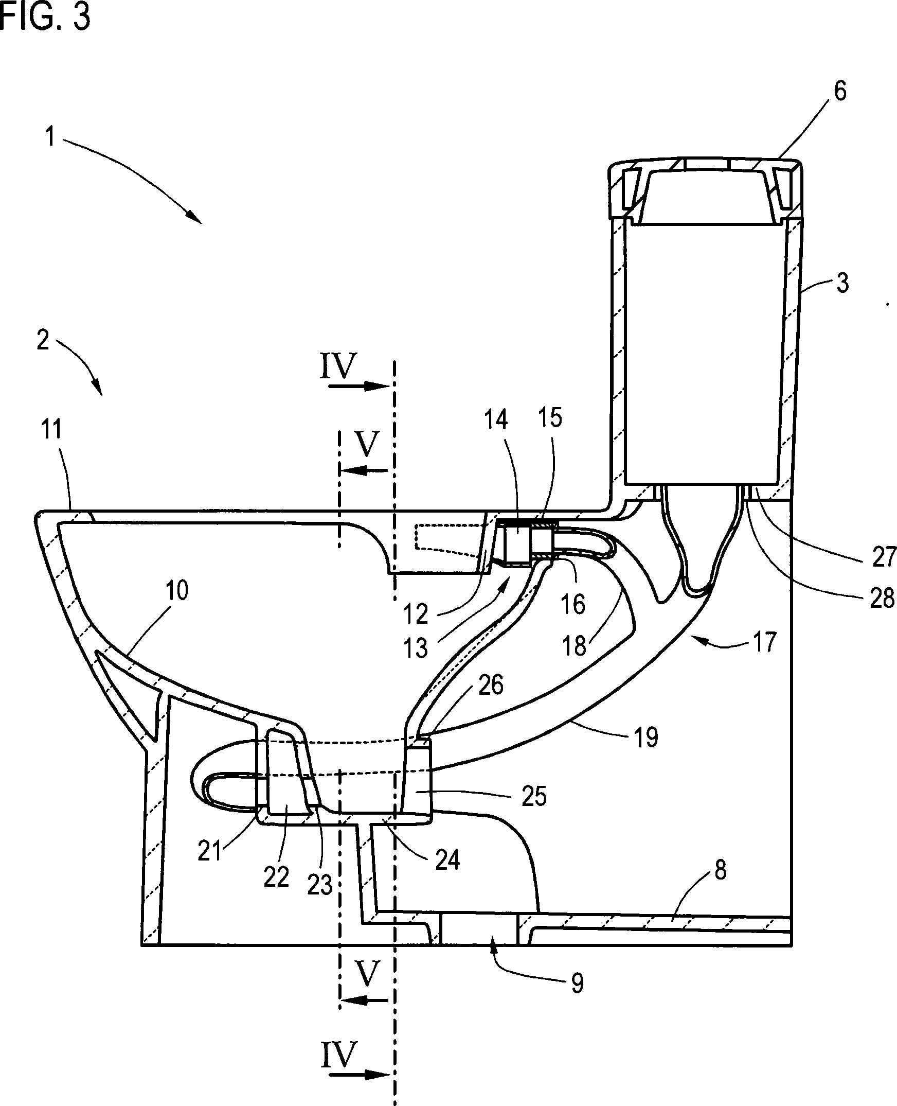 patent de102012010580a1 stand wc mit angegossenem. Black Bedroom Furniture Sets. Home Design Ideas