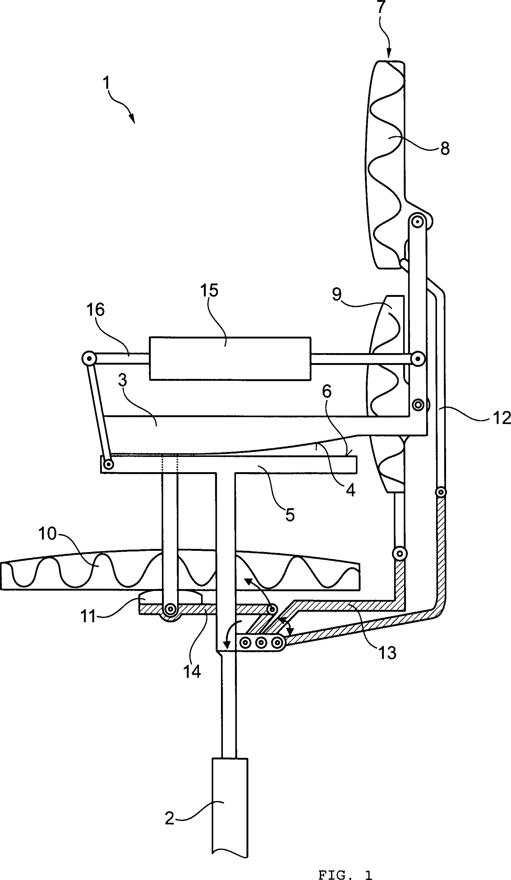 Patent de102012013299a1 stuhl insbesondere for Stuhl design dwg