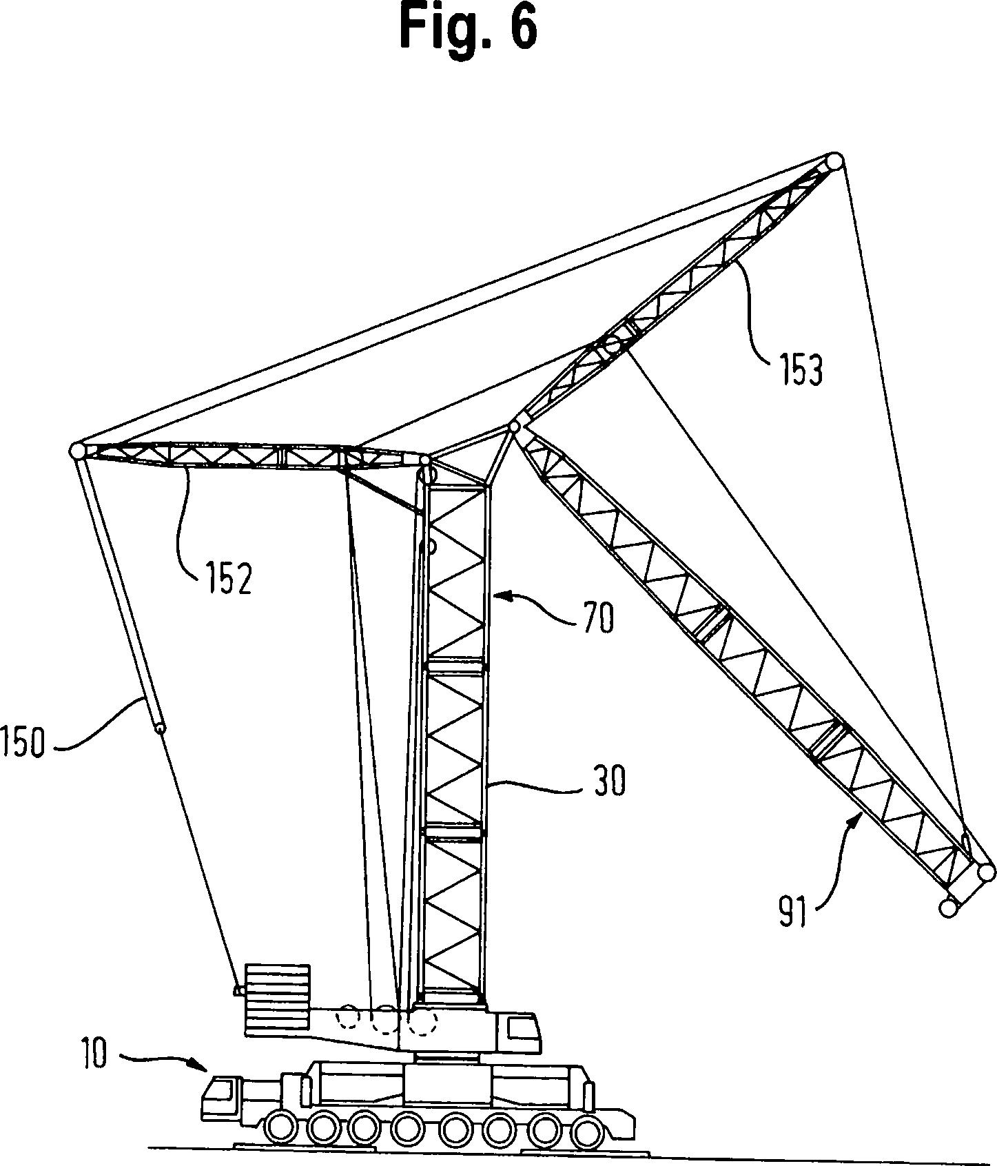 Tower Crane Inventor : Patent de a turmdrehkran tower crane