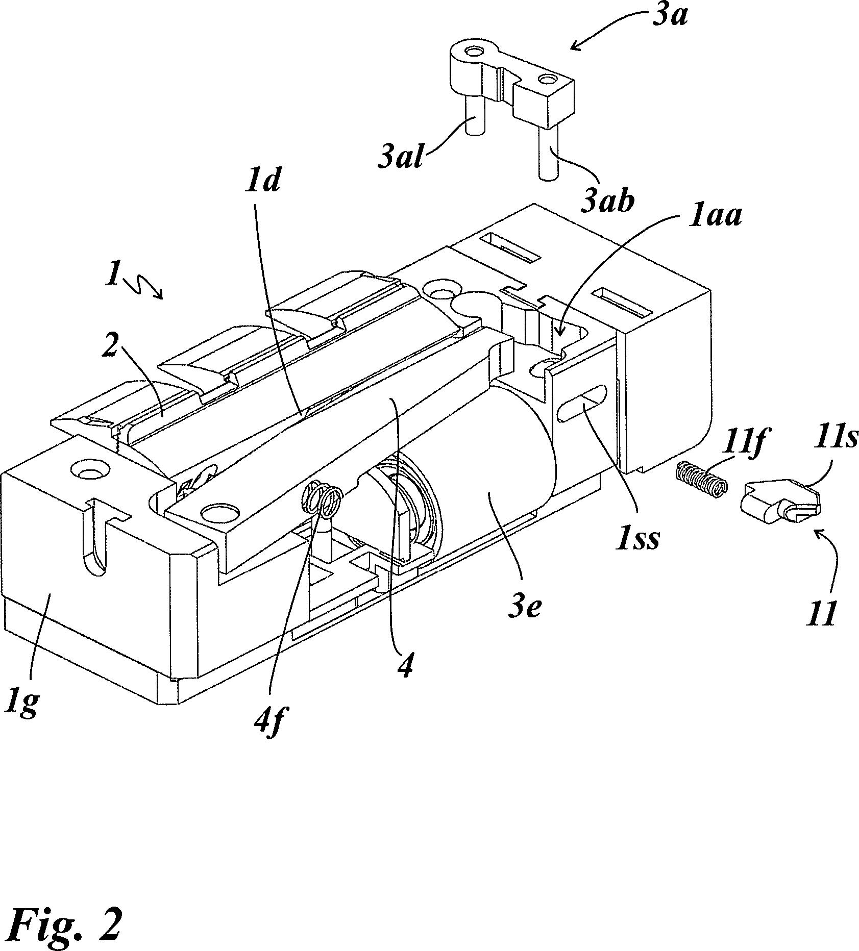 patent de102013012203a1 elektrischer t r ffner sowie ein passivfl gelschloss mit einem solchen. Black Bedroom Furniture Sets. Home Design Ideas