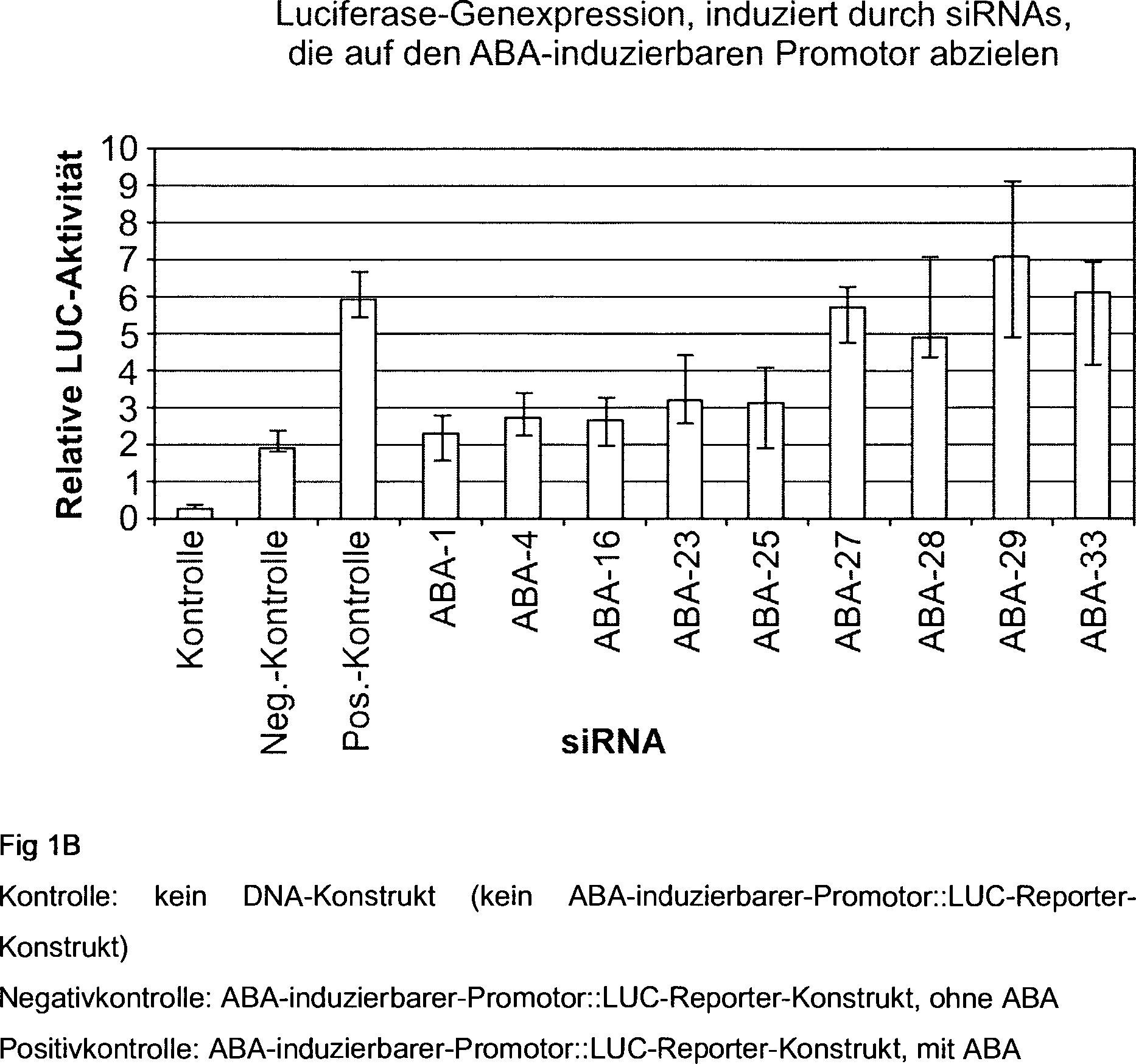 特許 DE112010001705T5 - RNA-vermittelte lnduktion von Genexpression ...