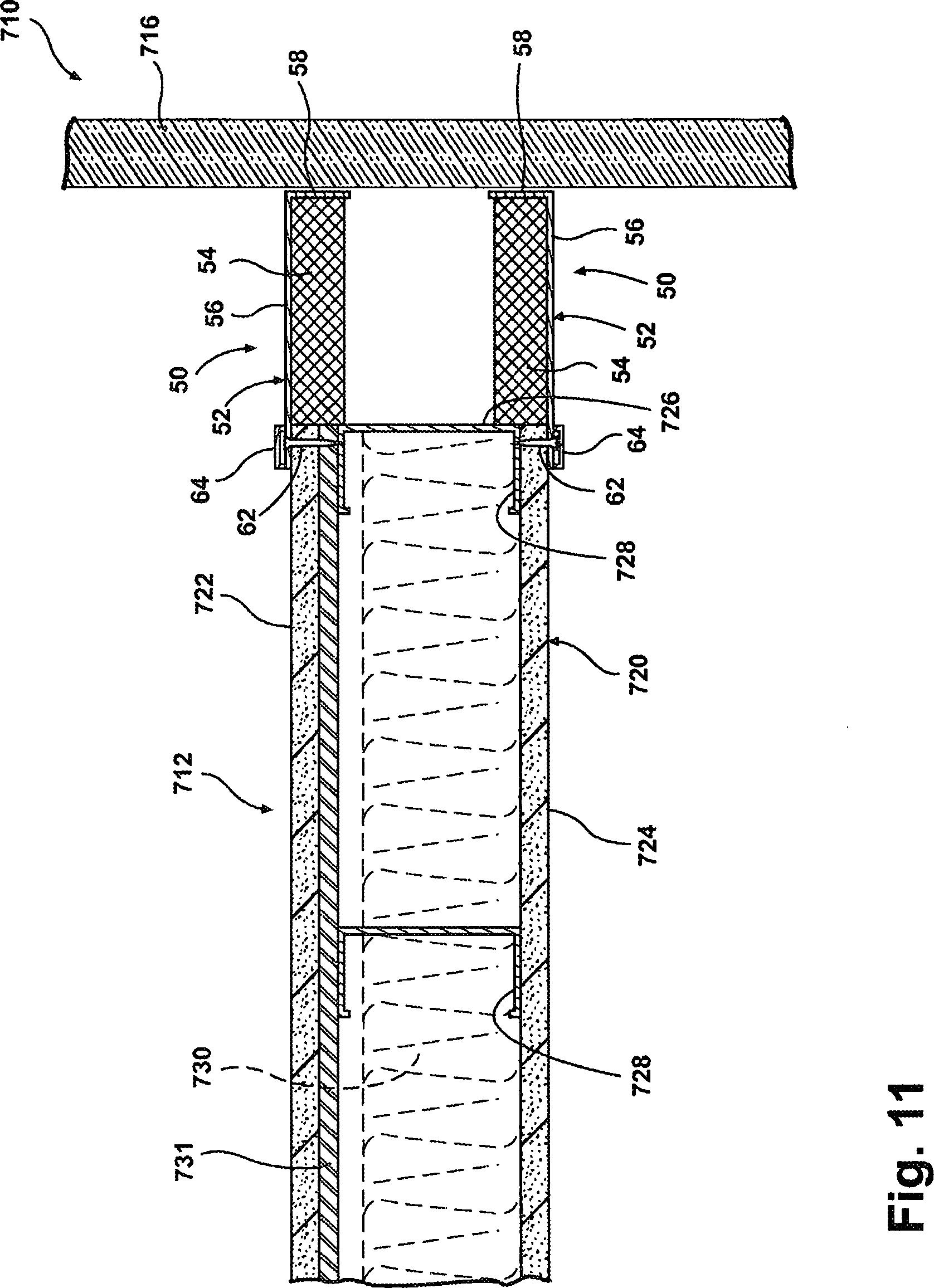 patent de112012000500t5 innenwandabdeckung zur anwendung an einer au enwand einer google. Black Bedroom Furniture Sets. Home Design Ideas