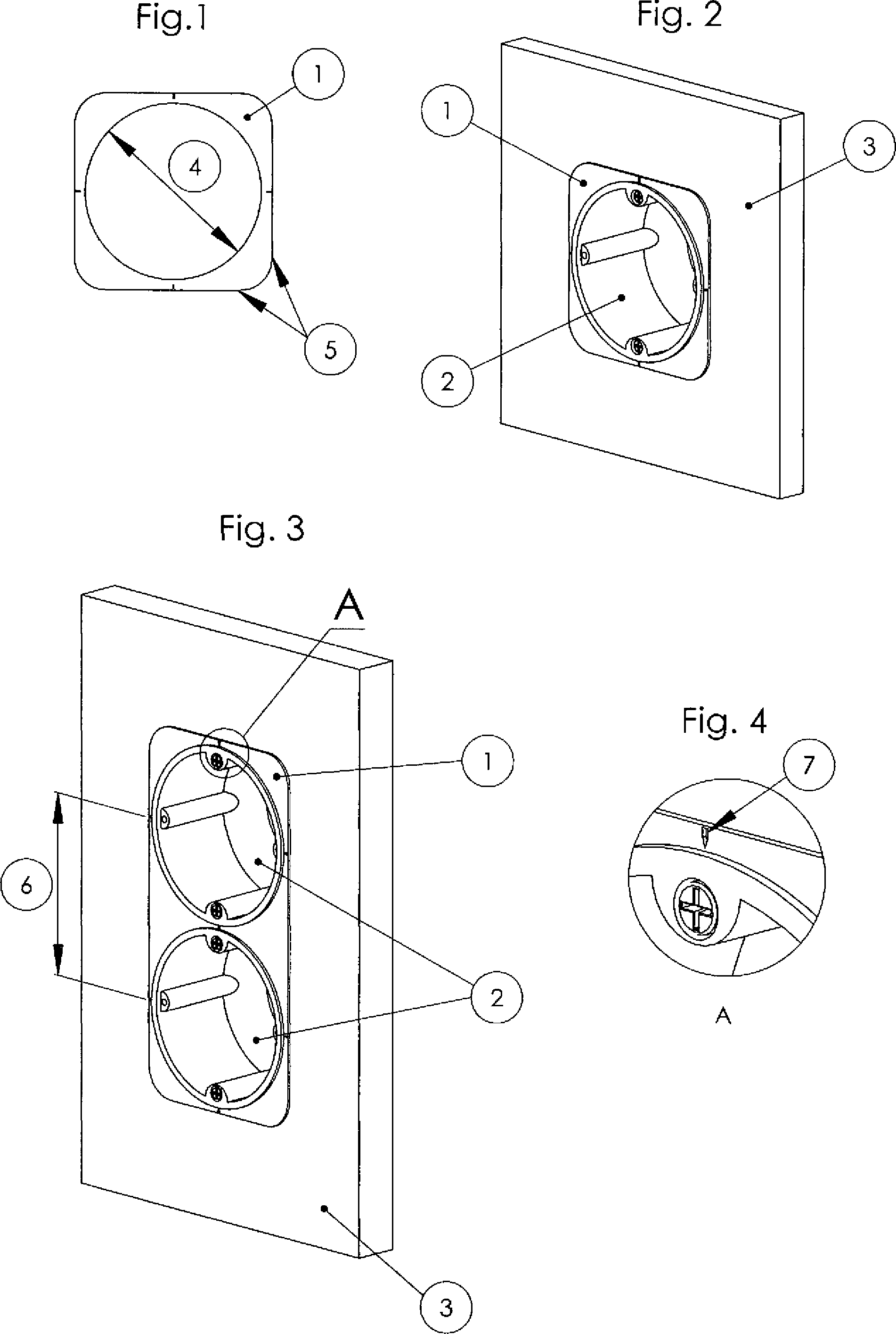 patent de202011106935u1 montagerahmen f r hohlwanddosen google patents. Black Bedroom Furniture Sets. Home Design Ideas
