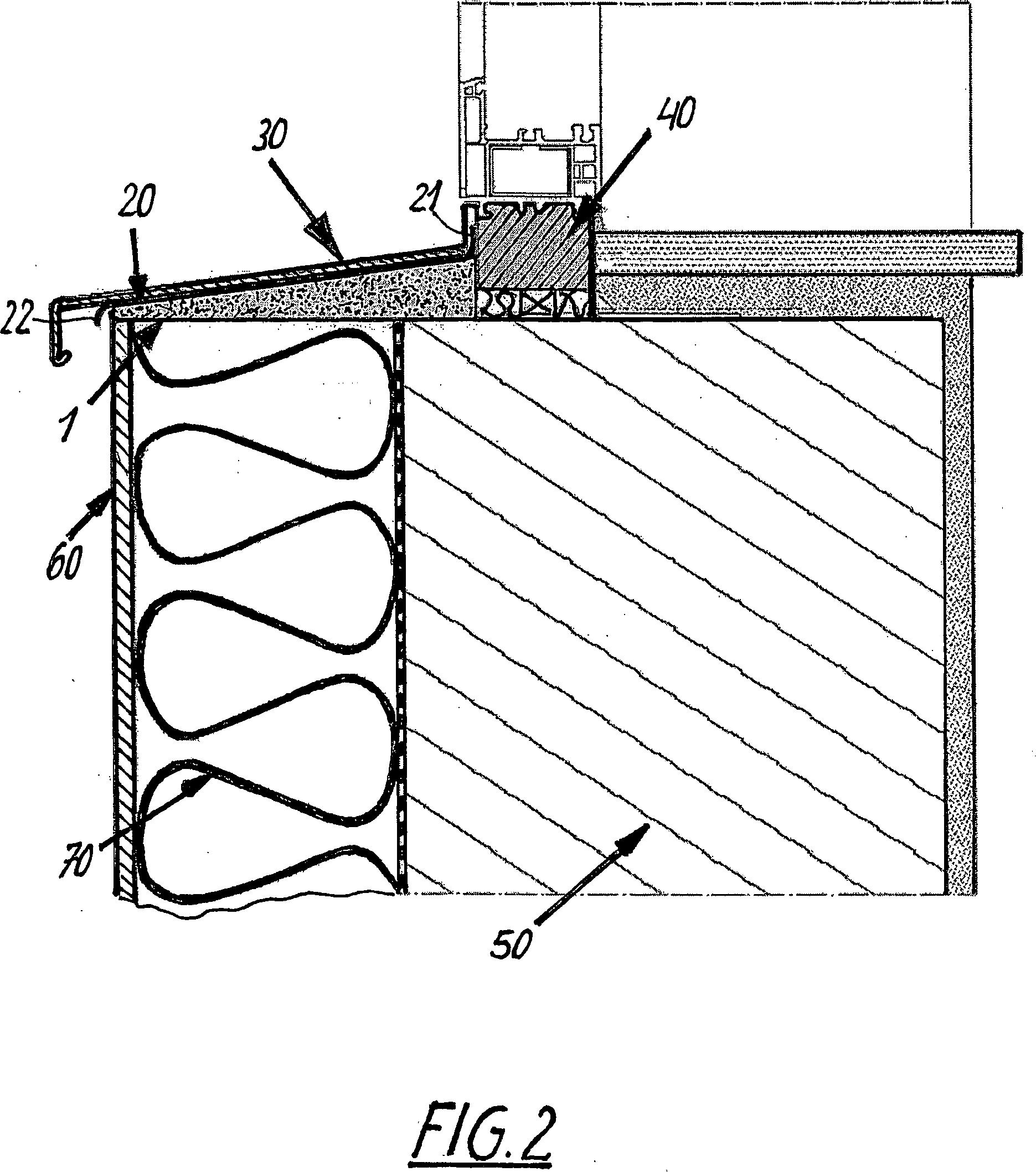 patent de202012005424u1 d mmkeil zur w rmed mmung einer fensterbank sowie fensterbank f r. Black Bedroom Furniture Sets. Home Design Ideas