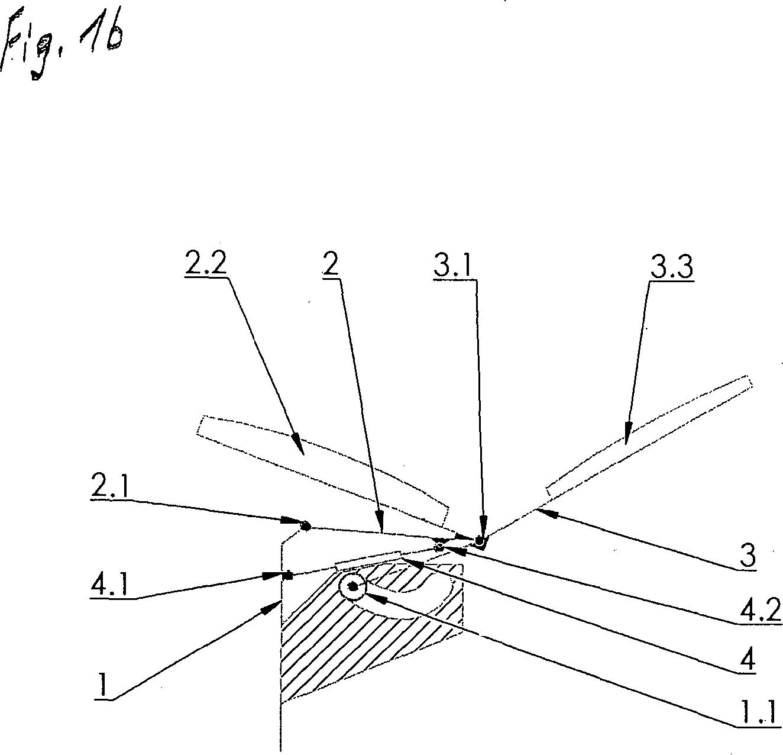 Patent de202012006398u1 getriebe f r stuhl mit for Stuhl design dwg