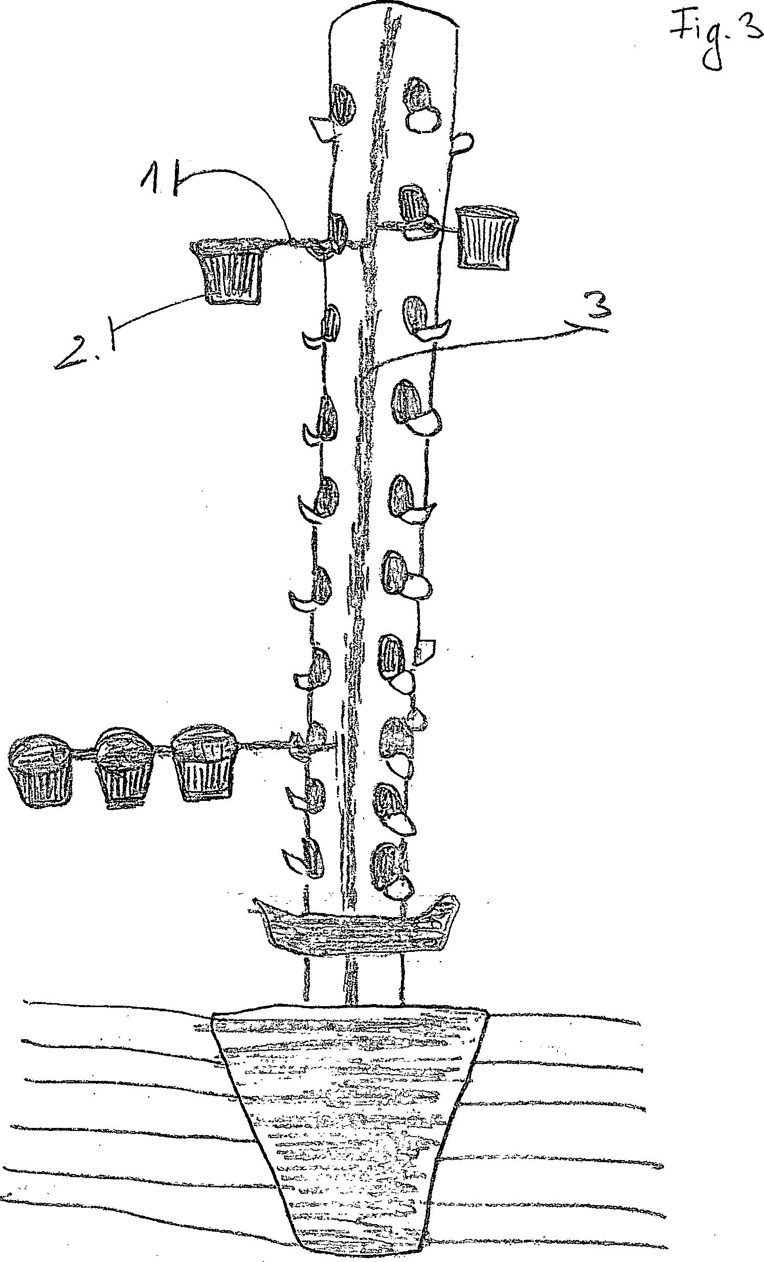 patent de202012007938u1 erdbeerbaum system arbutus. Black Bedroom Furniture Sets. Home Design Ideas