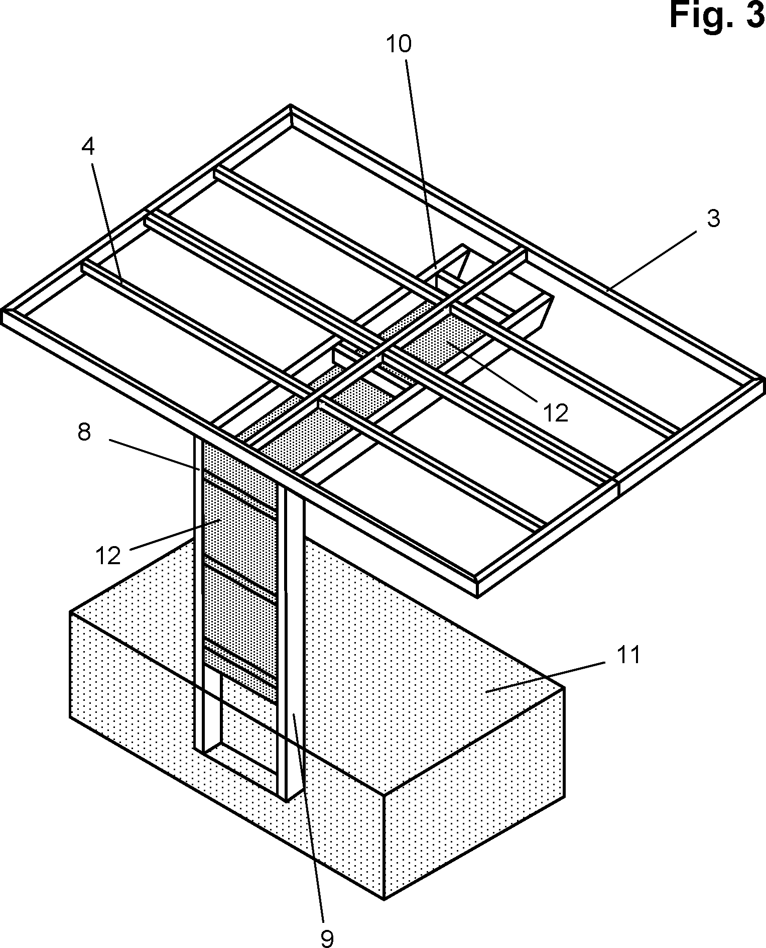 patent de202012101518u1 solarcarport mit einer. Black Bedroom Furniture Sets. Home Design Ideas