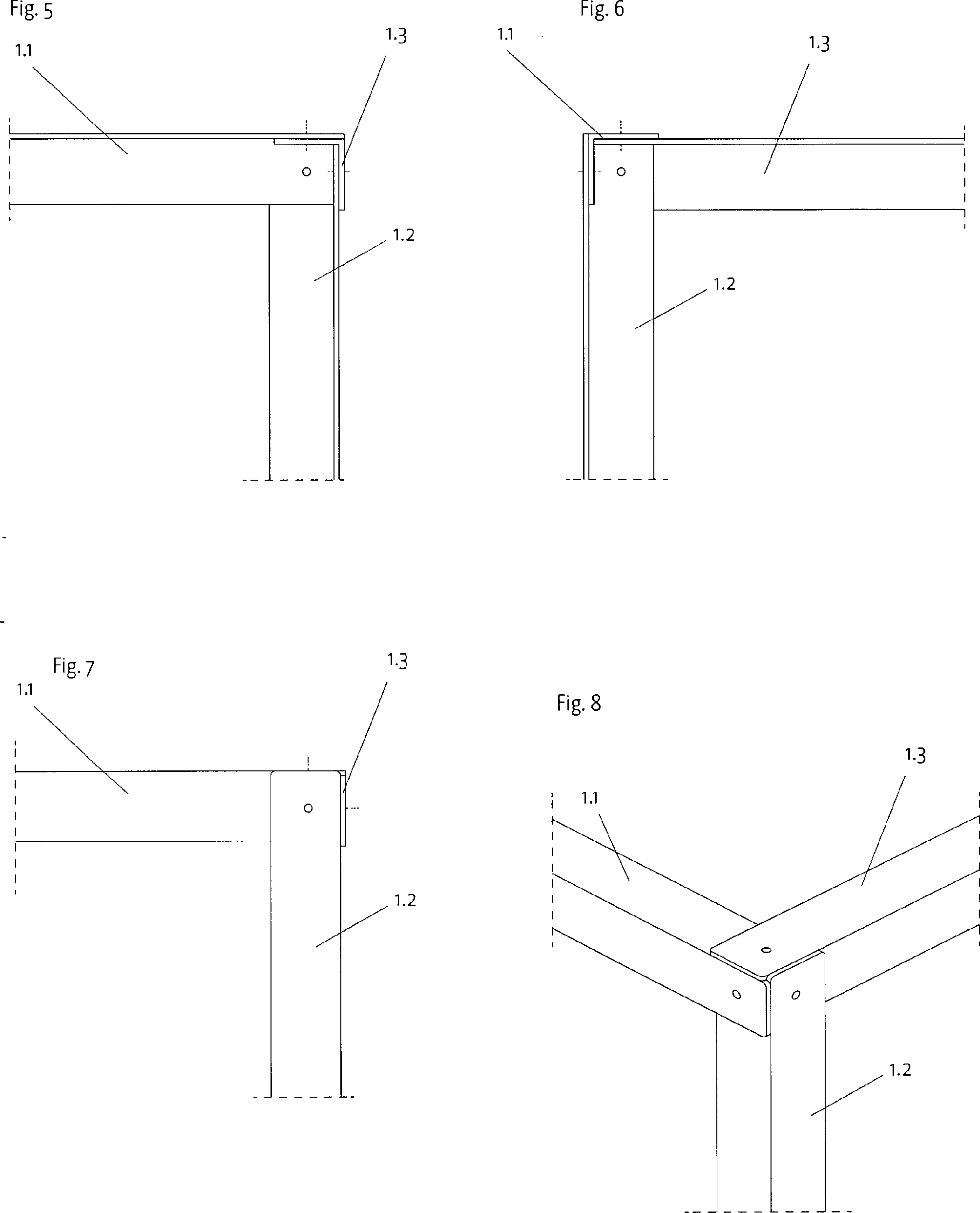 ZimmertUren Holz Oder Kunststoff ~   für L Profile aus Metall, Holz oder Kunststoff  Google Patents