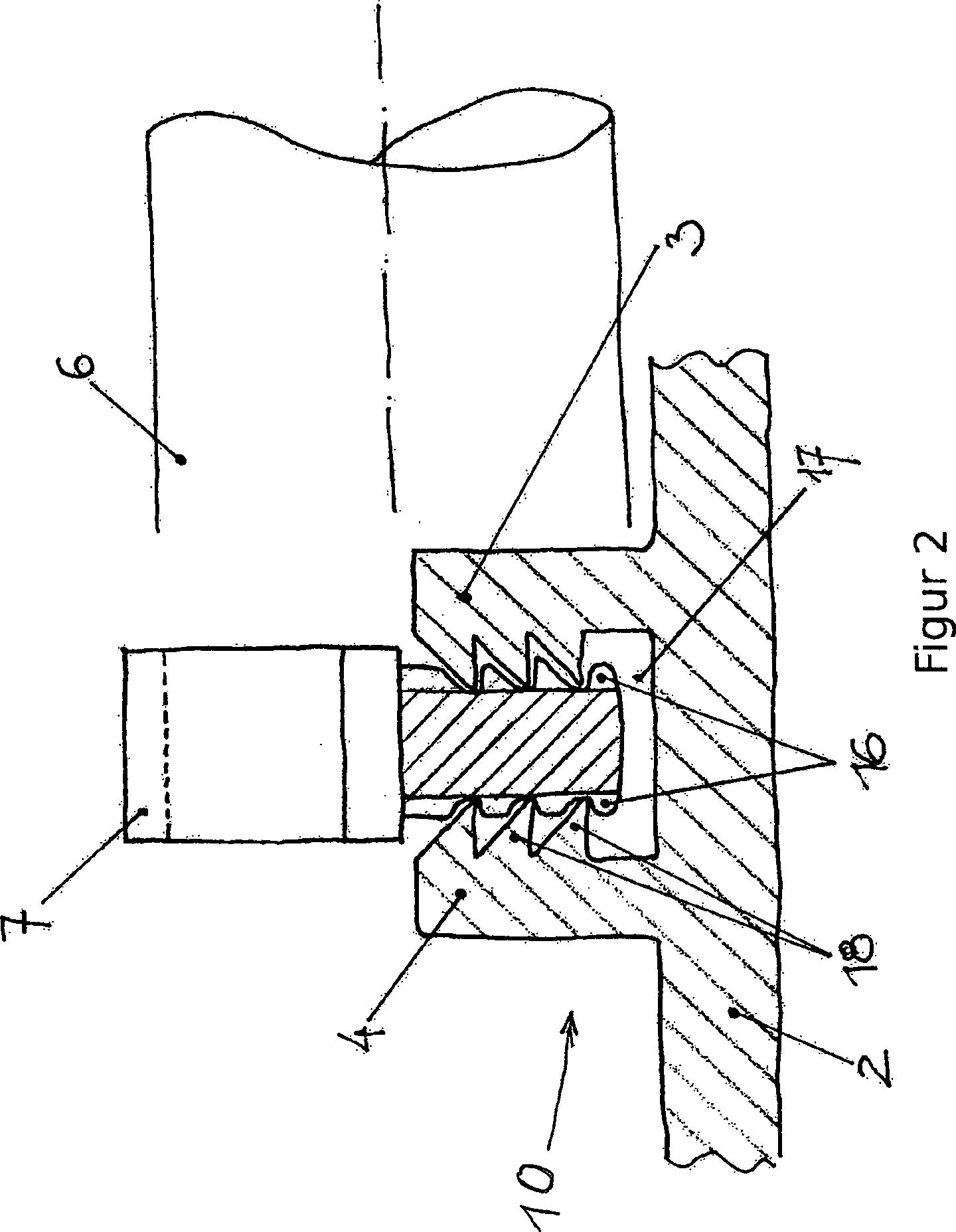 patent de202013007360u1 befestigungsvorrichtung f r die. Black Bedroom Furniture Sets. Home Design Ideas