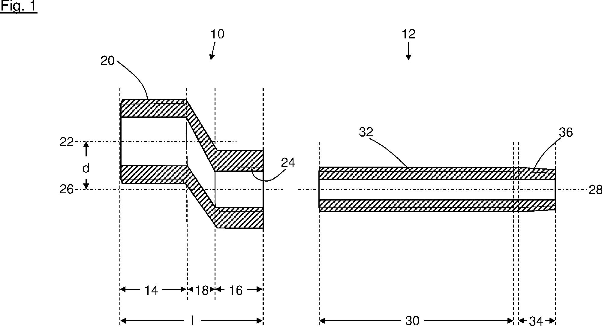 patent de202015102160u1 s anschluss zum anschlie en einer armatur an eine wasserleitung. Black Bedroom Furniture Sets. Home Design Ideas