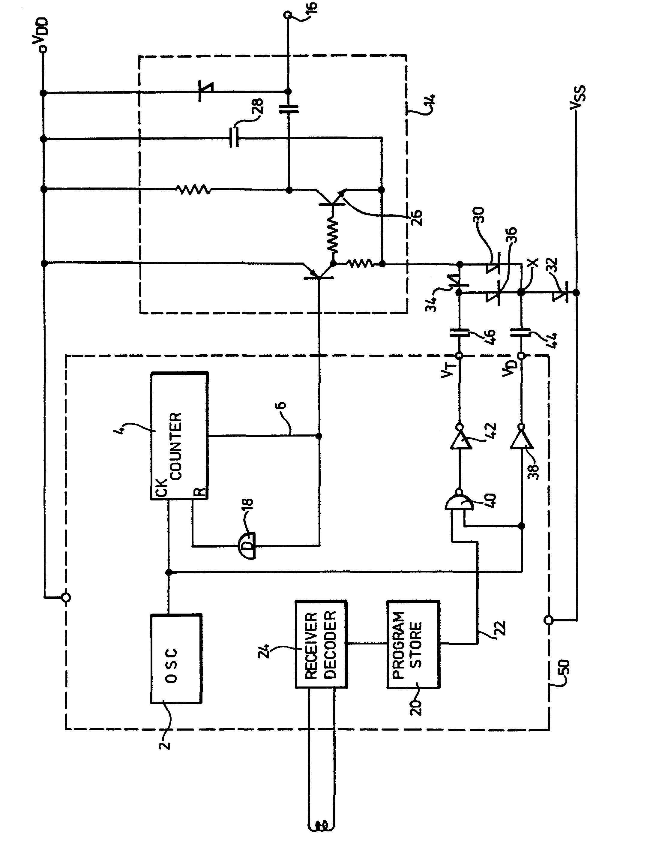 Patente Ep0000983a1 Programmably Variable Voltage Multiplier For With Diodes And Capacitors Patent Drawing