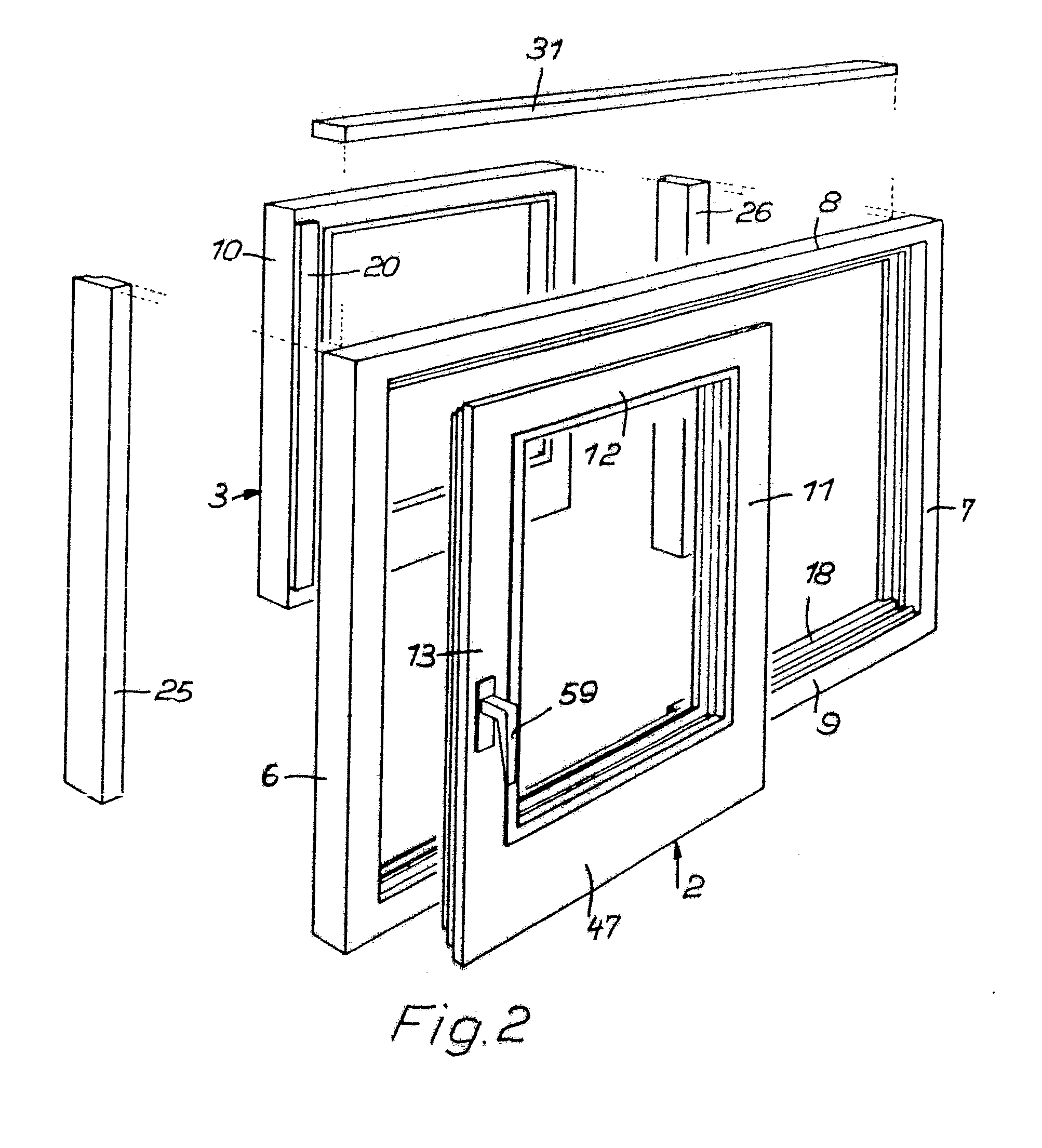patent ep0011124b1 t r oder fenster google patents. Black Bedroom Furniture Sets. Home Design Ideas
