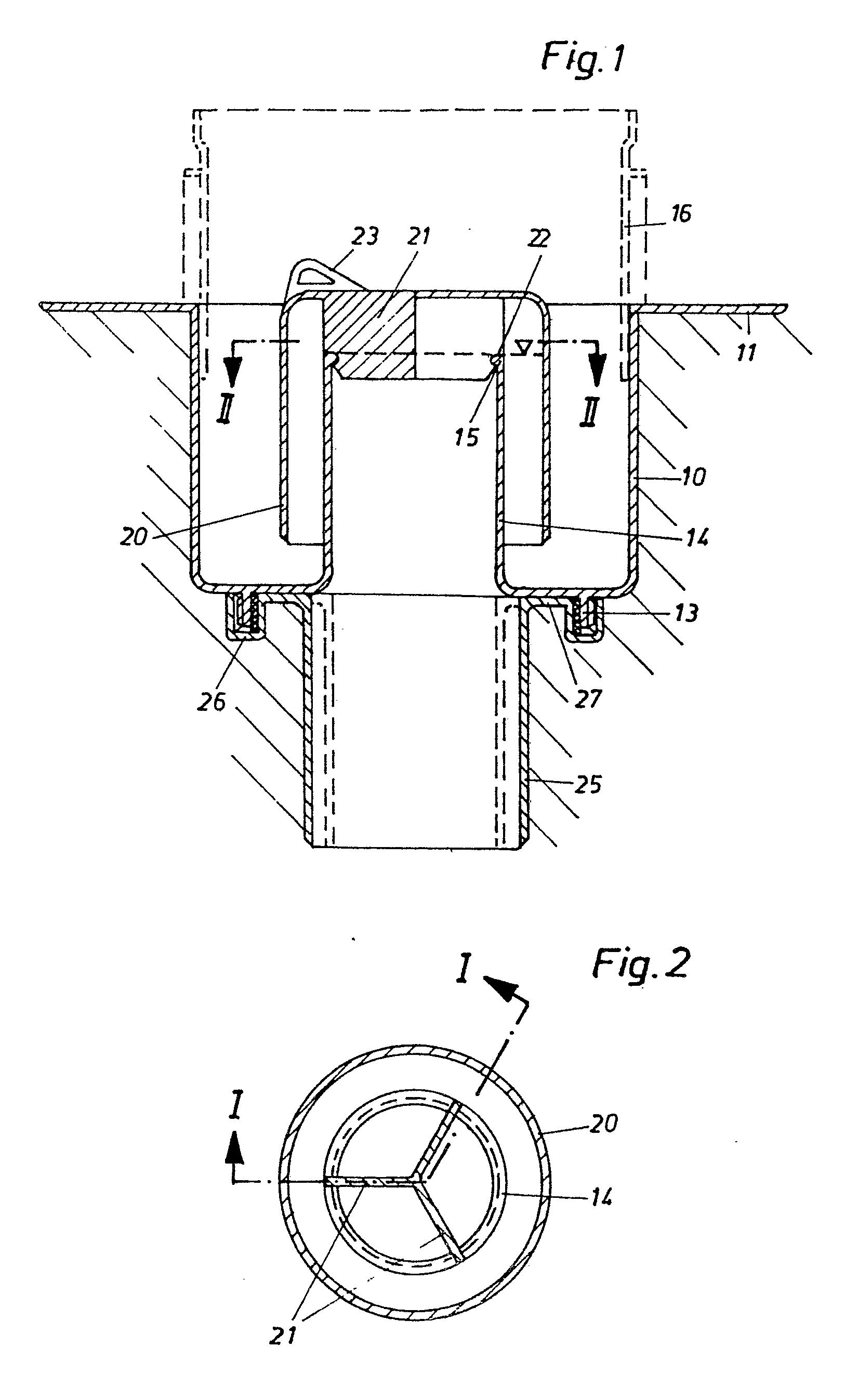 patent ep0011154b1 siphon de sol compos d 39 l ments en mati re plastique avec coupe odeur. Black Bedroom Furniture Sets. Home Design Ideas