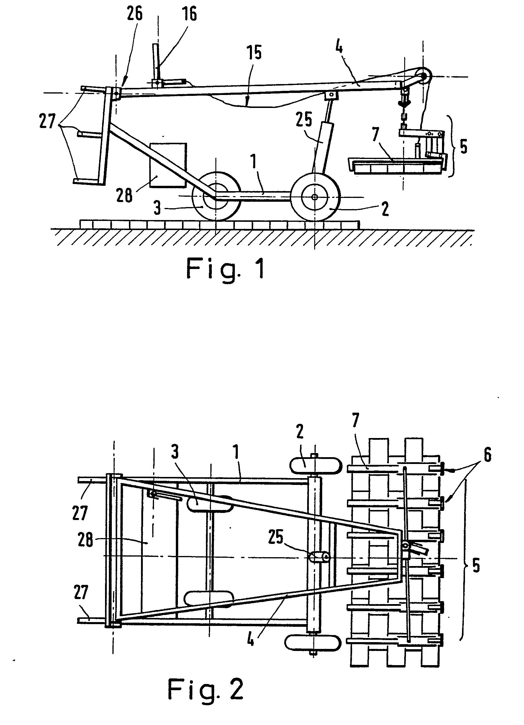 patent ep0012387b1 ger t zum verlegen von. Black Bedroom Furniture Sets. Home Design Ideas