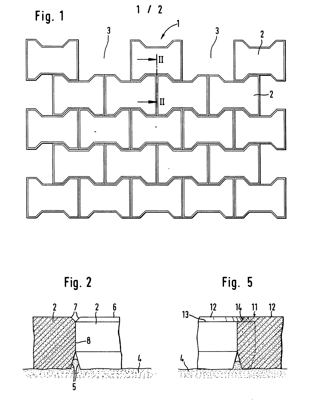 patent ep0013896a1 verlegeeinheit aus pflastersteinen. Black Bedroom Furniture Sets. Home Design Ideas