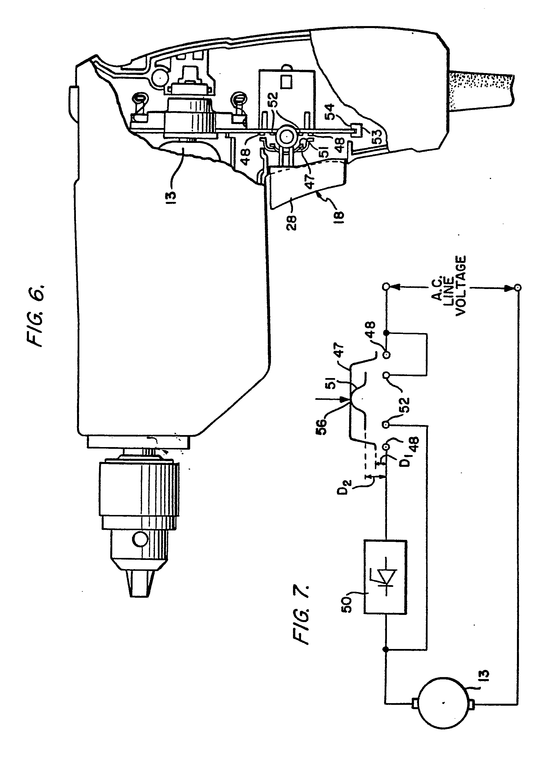 Patent EP0025938B1     Trigger       switch    and printed circuit