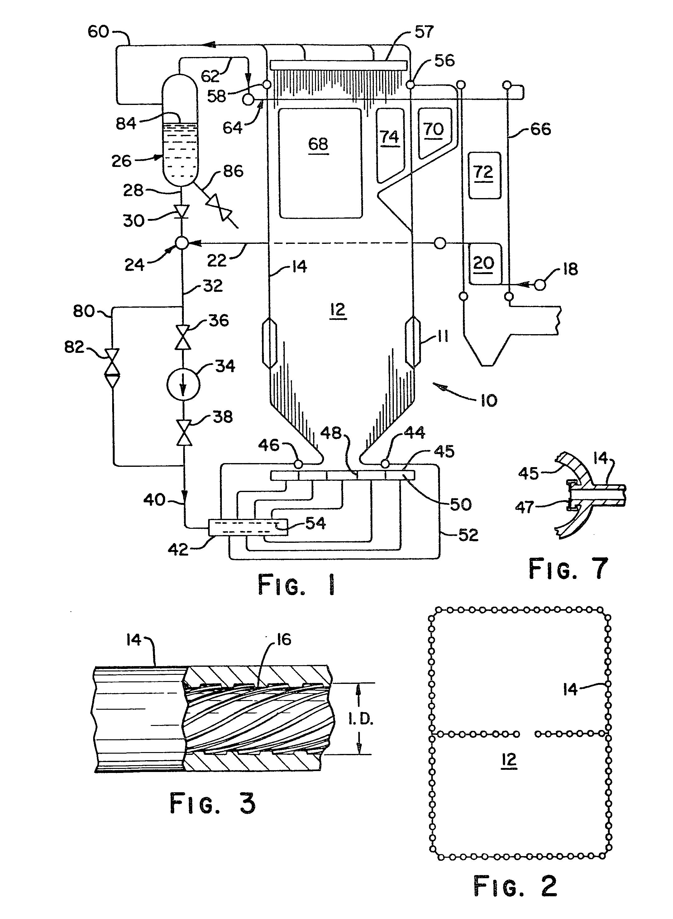 Patent EP A2 ce through sliding pressure steam generator