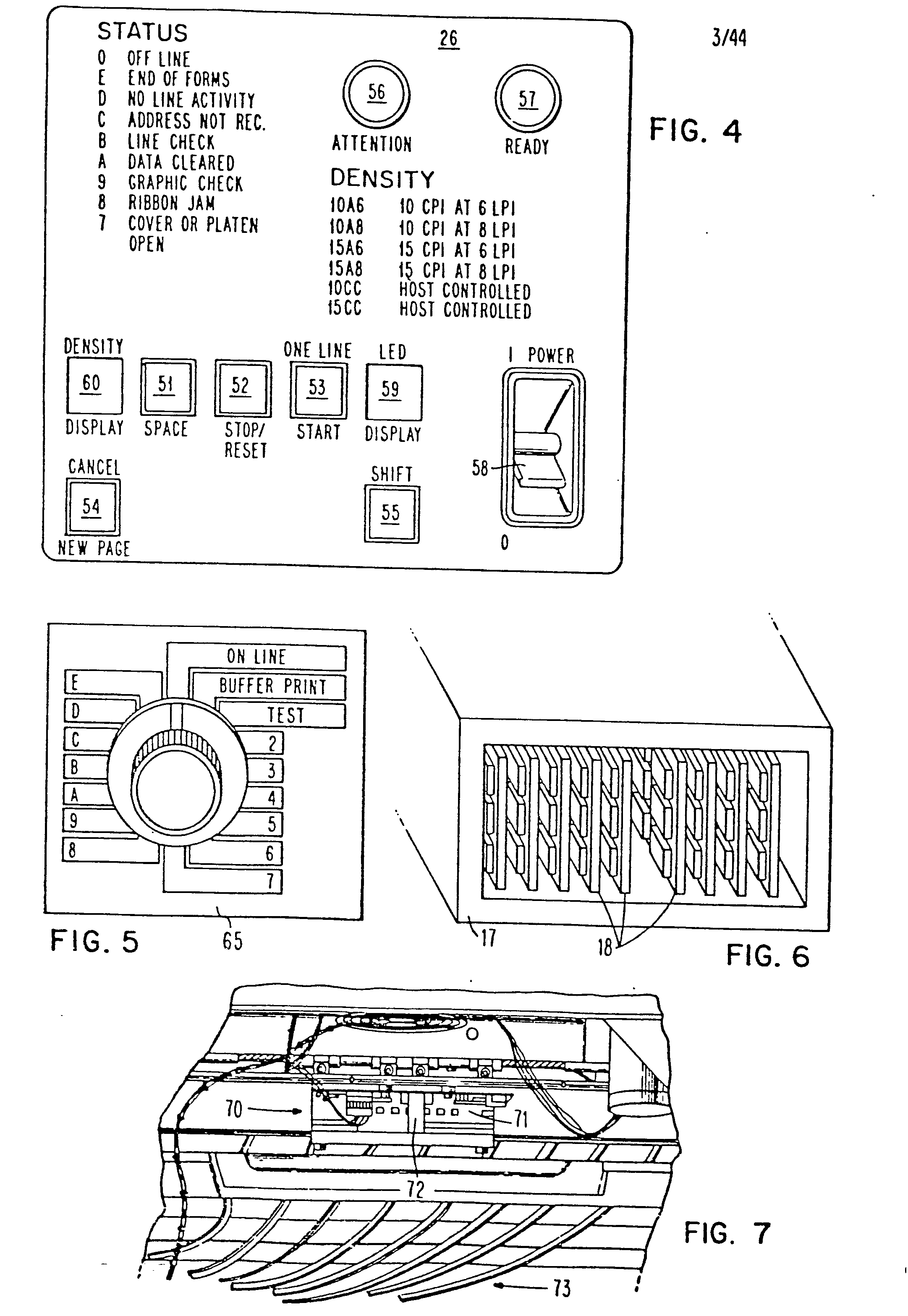 Patent ep0027562a2 print head image generator for printer patent drawing sciox Images