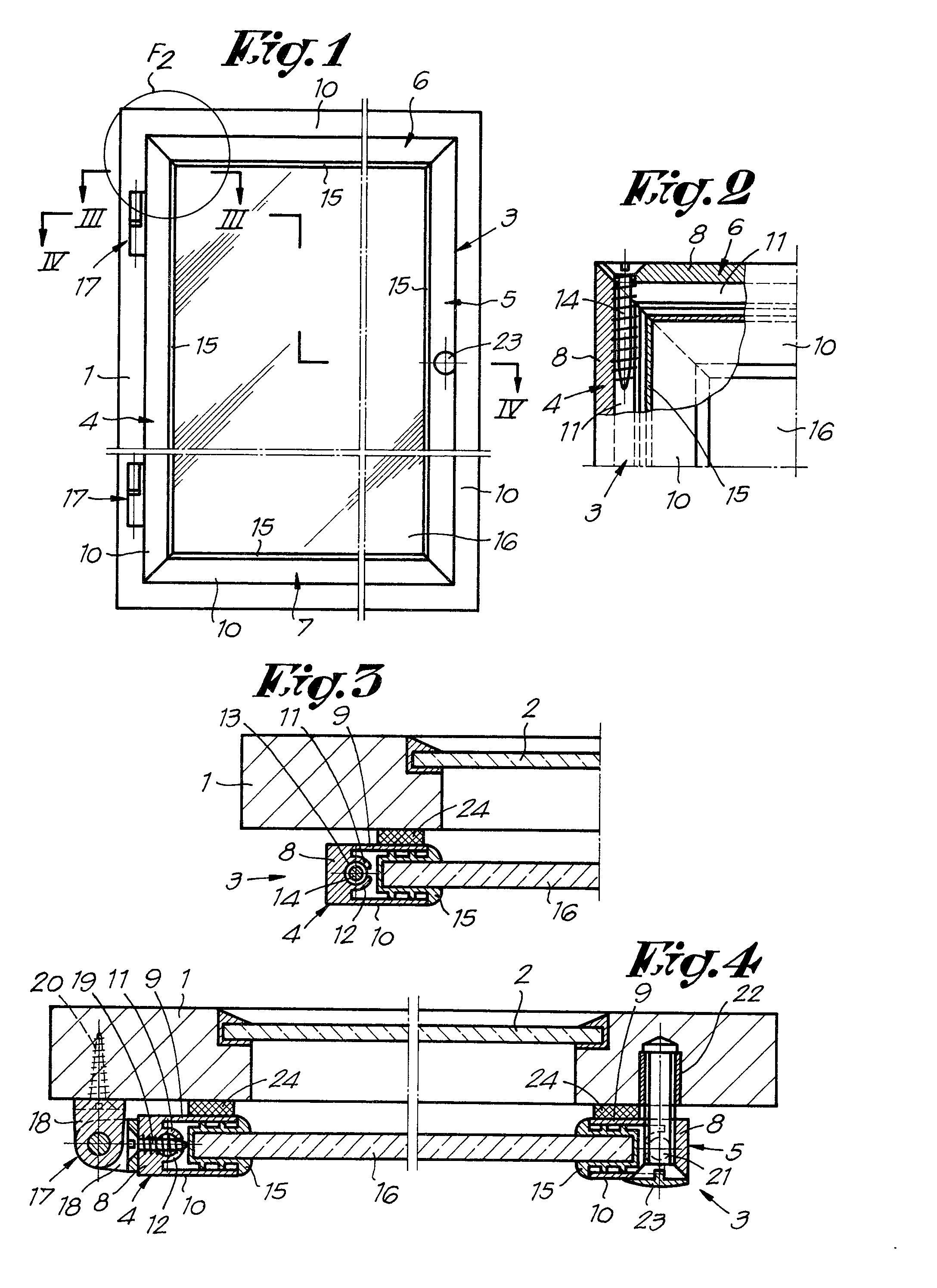 Patent ep0030406a1 contre fen tre google patents for Chassis de fenetre
