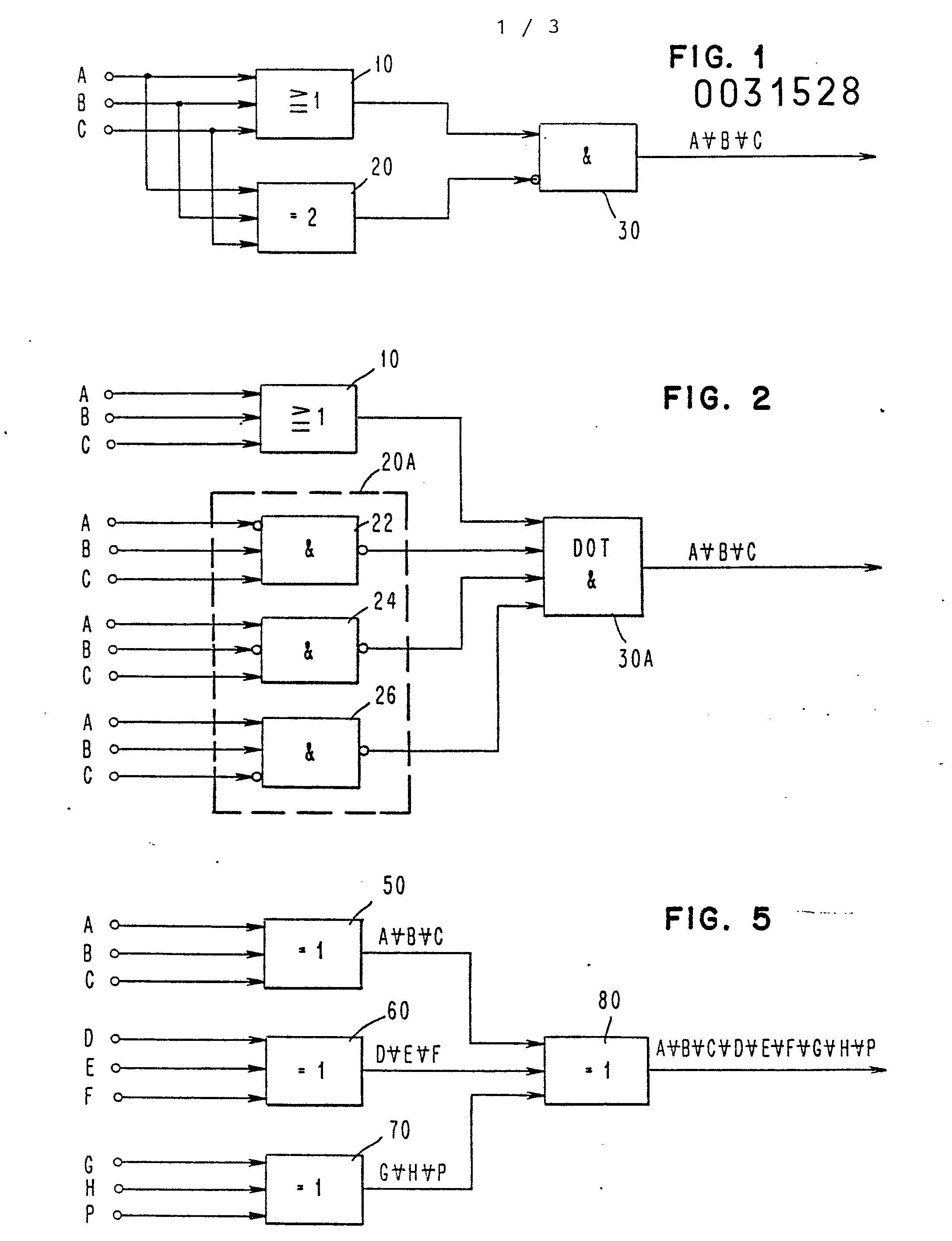 Patent ep0031528a1 circuit logique ou exclusif trois entr es google patents for Porte logique ou exclusif