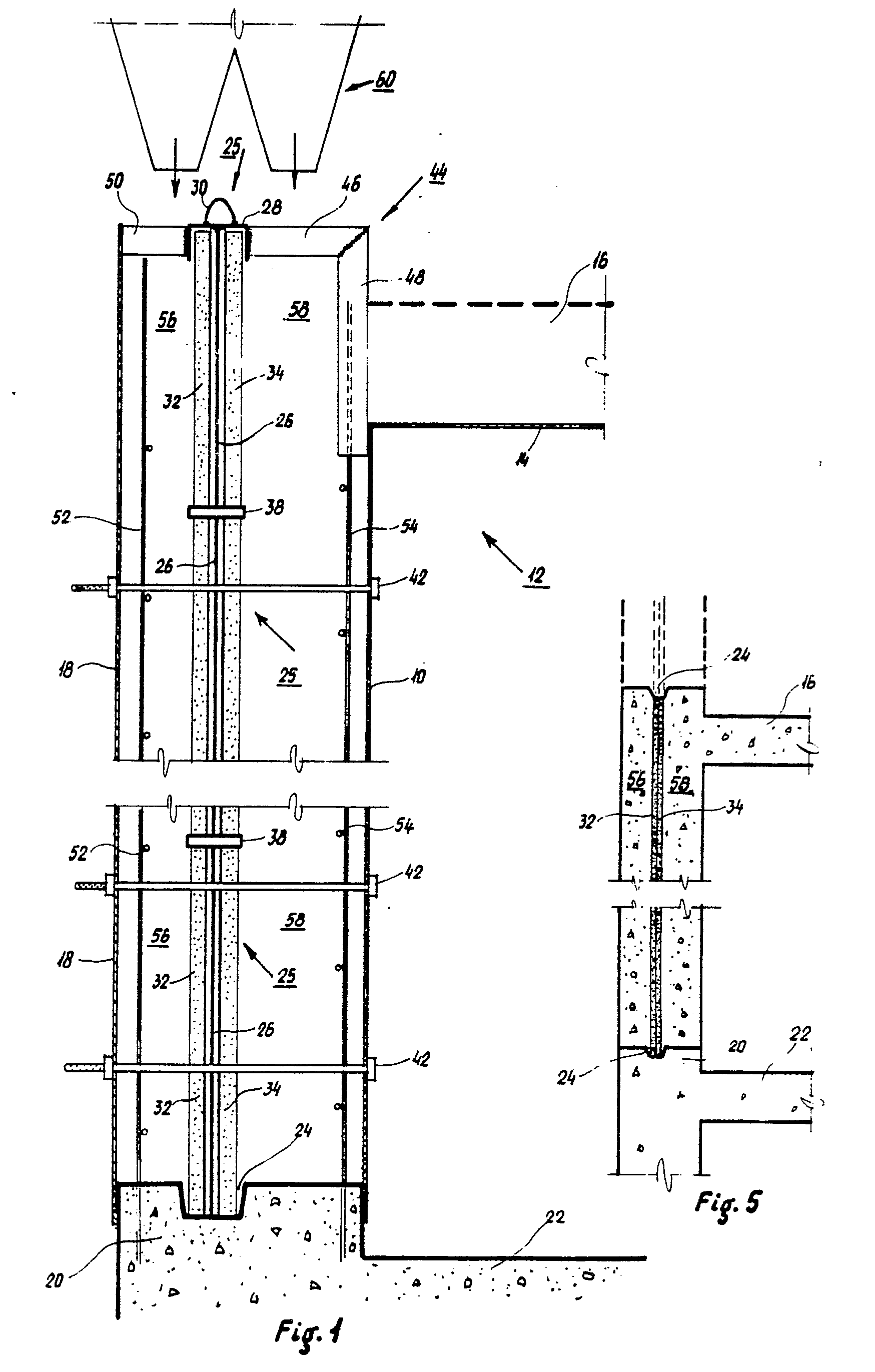 Patent Ep0033942b1 Method Of Constructing In Situ Cast