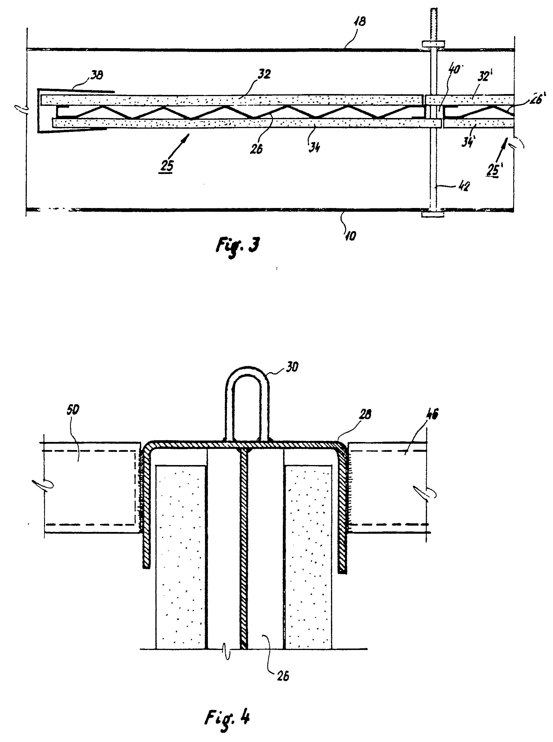 Patent ep0033942b1 proc d de fabrication de murs en for Beton coule en place