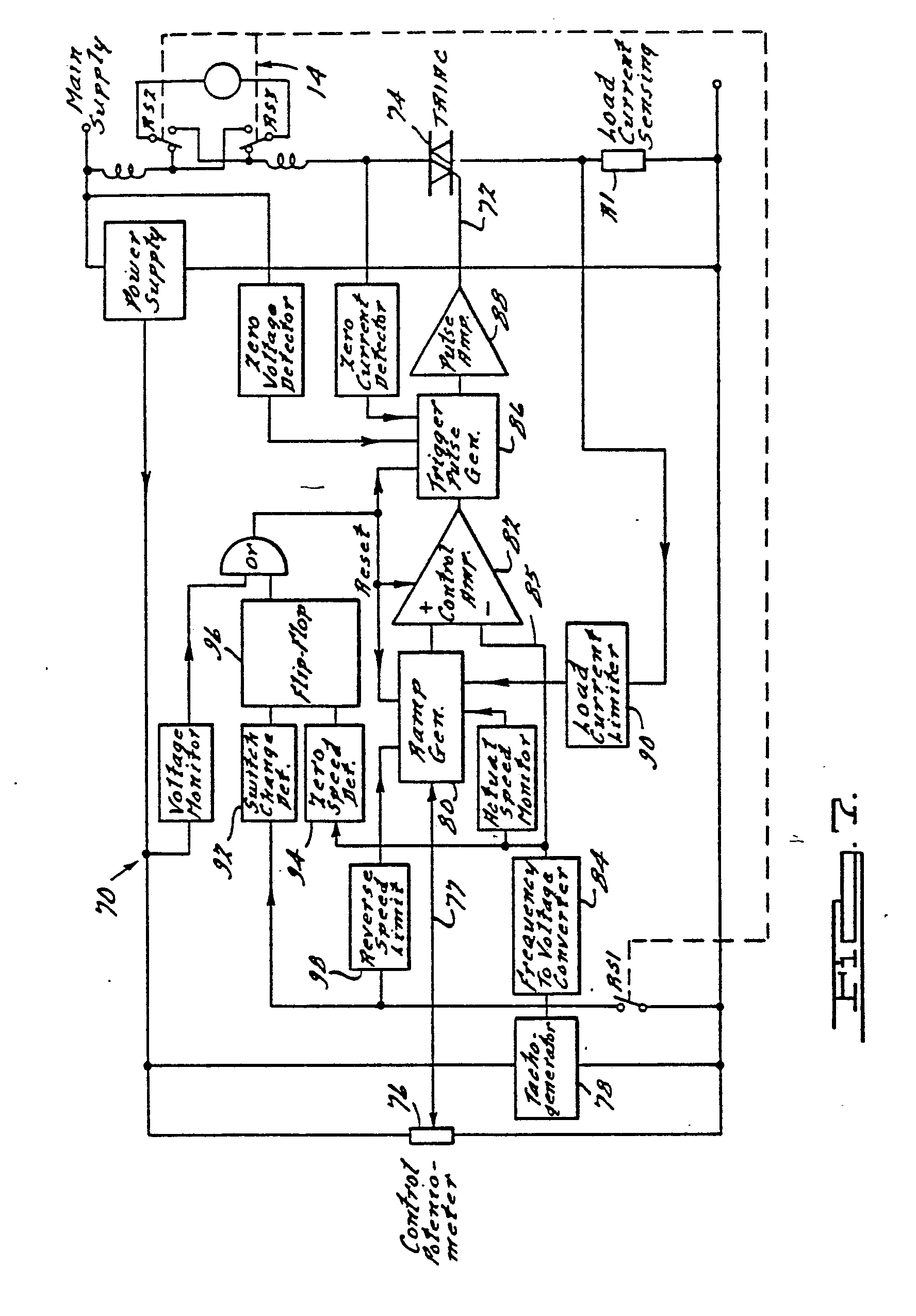 Power Tool Speed Controller Schematic Patent Ep0034822b1 Control Circuit For An Electric