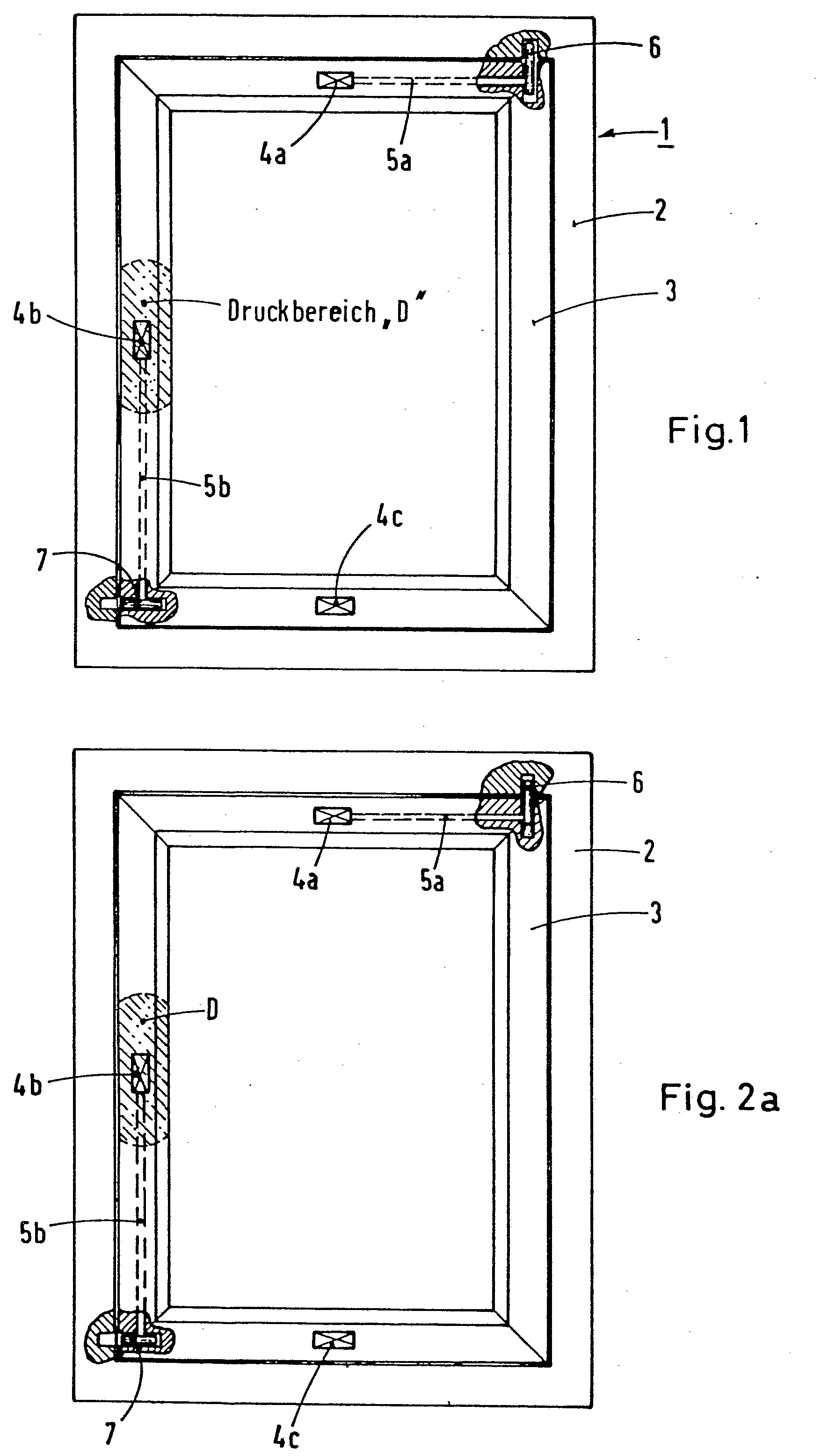 patent ep0039007a1 dreh kipp fenster google patents. Black Bedroom Furniture Sets. Home Design Ideas