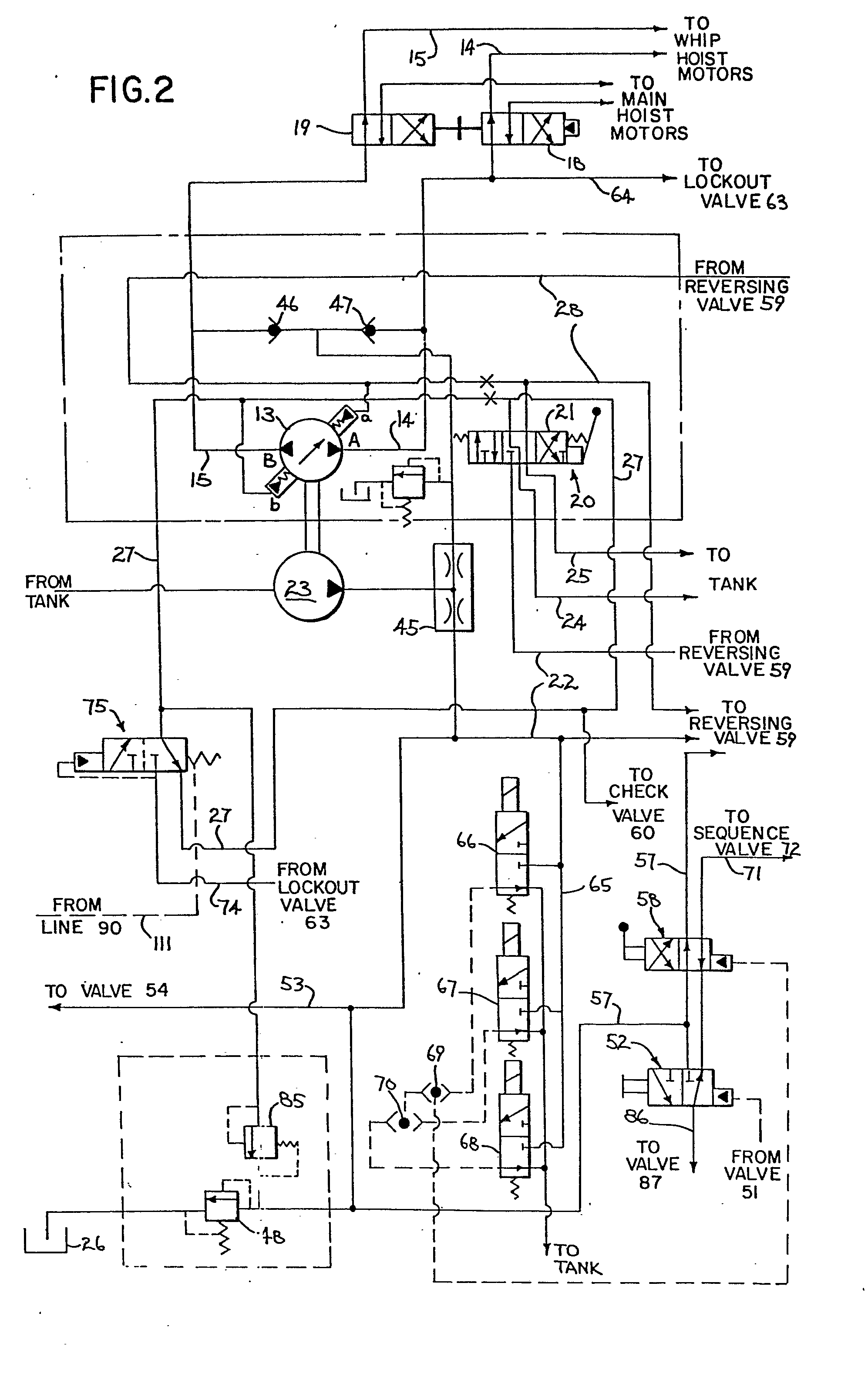 wiring diagram for pittsburgh electric hoist  diagram