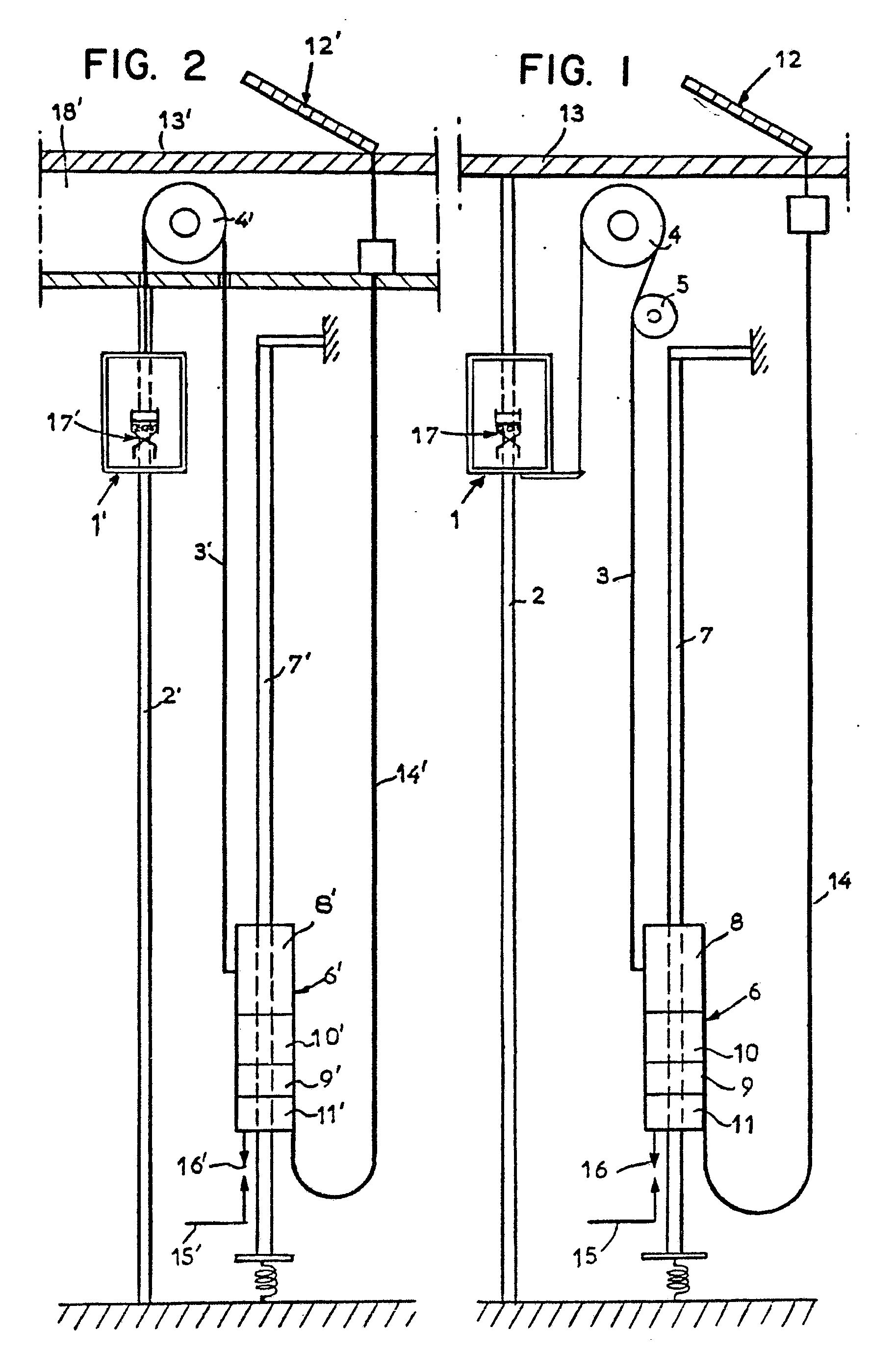 Patent Ep0048847b1 Self Powered Elevator Using A Linear