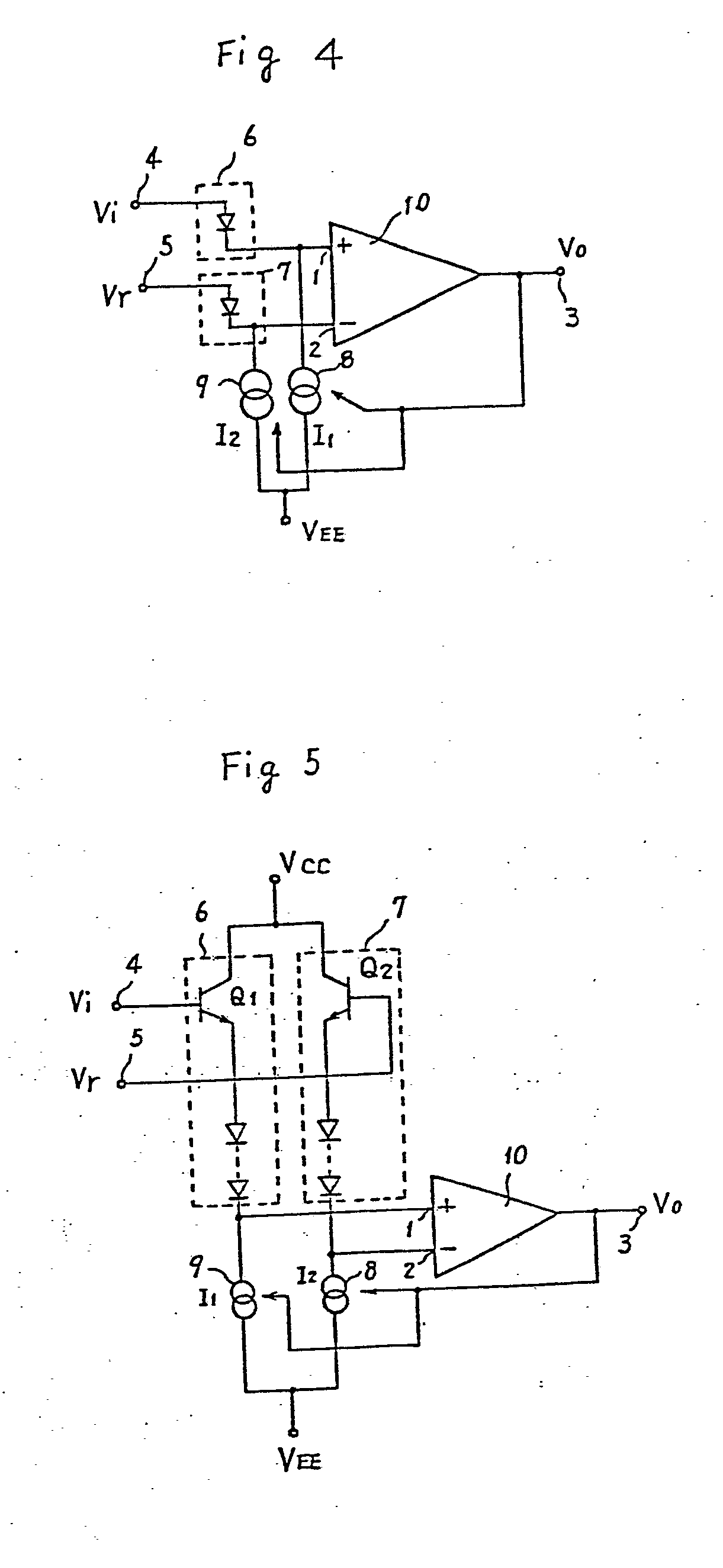 集成电路ku5573内部原理图