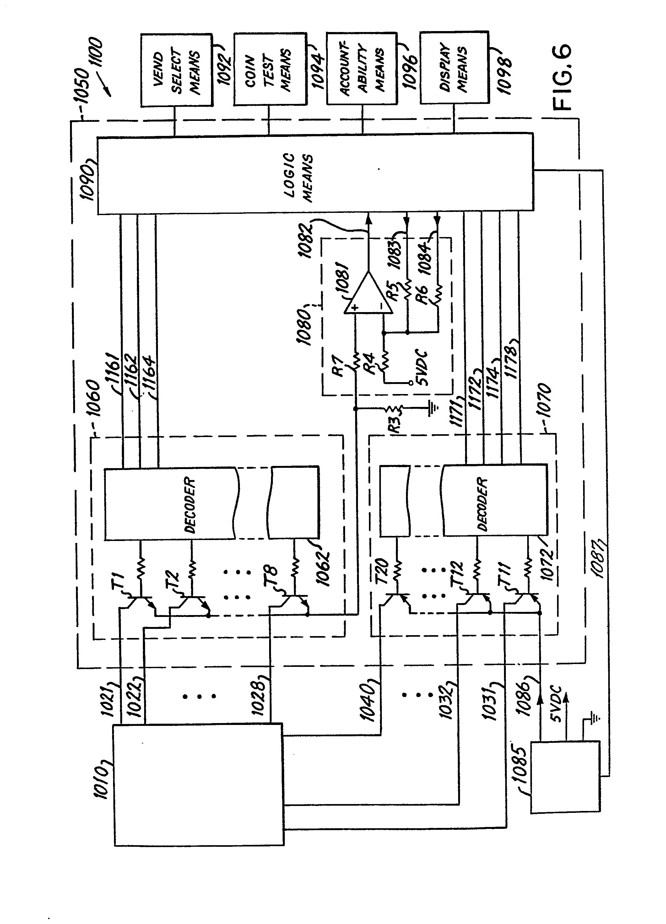 imgf0003 patent ep0063426a2 vending machine control and diagnostic narco 810 wiring diagram at creativeand.co