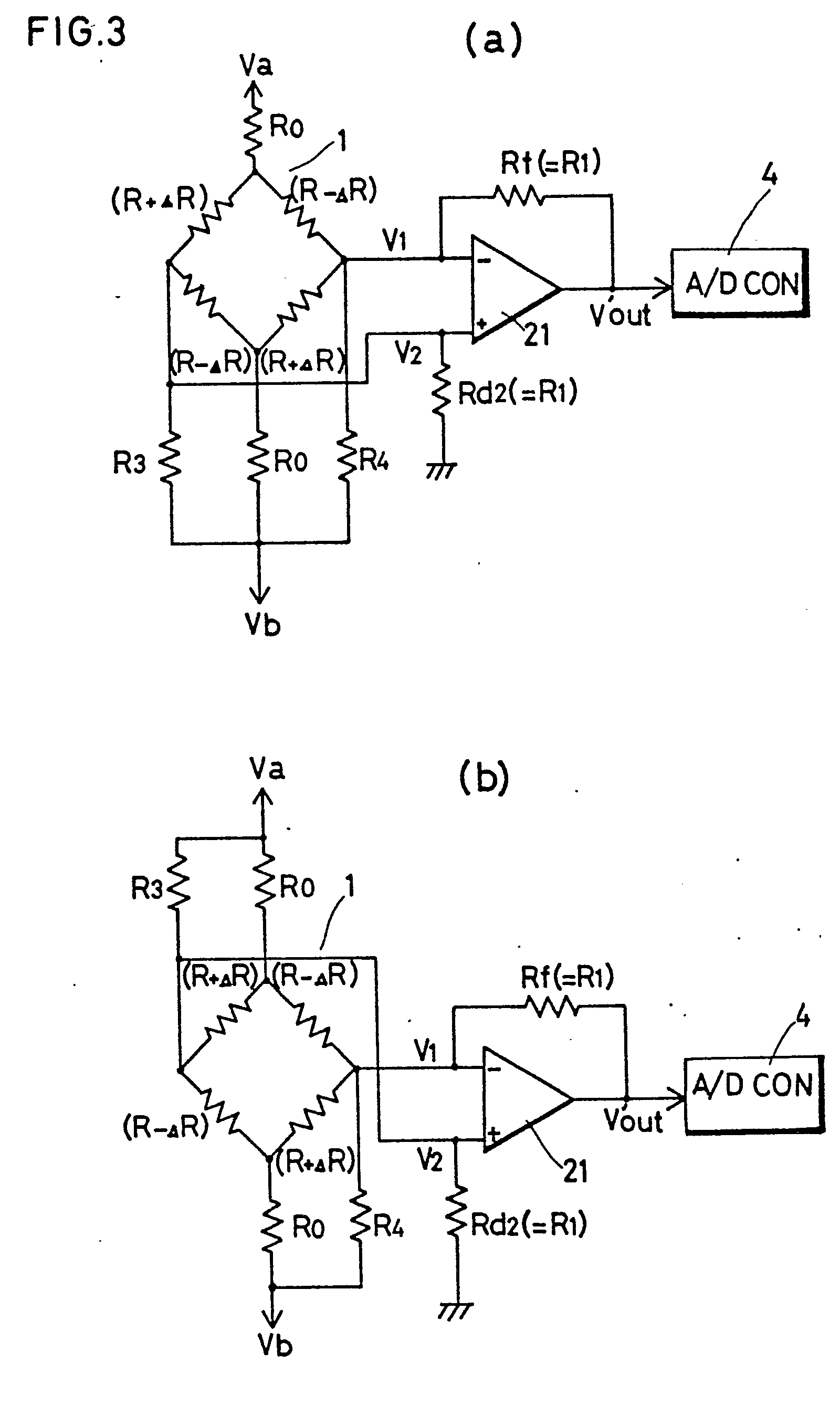 patent ep0067637b1 - weight detection circuit for a load cell scale