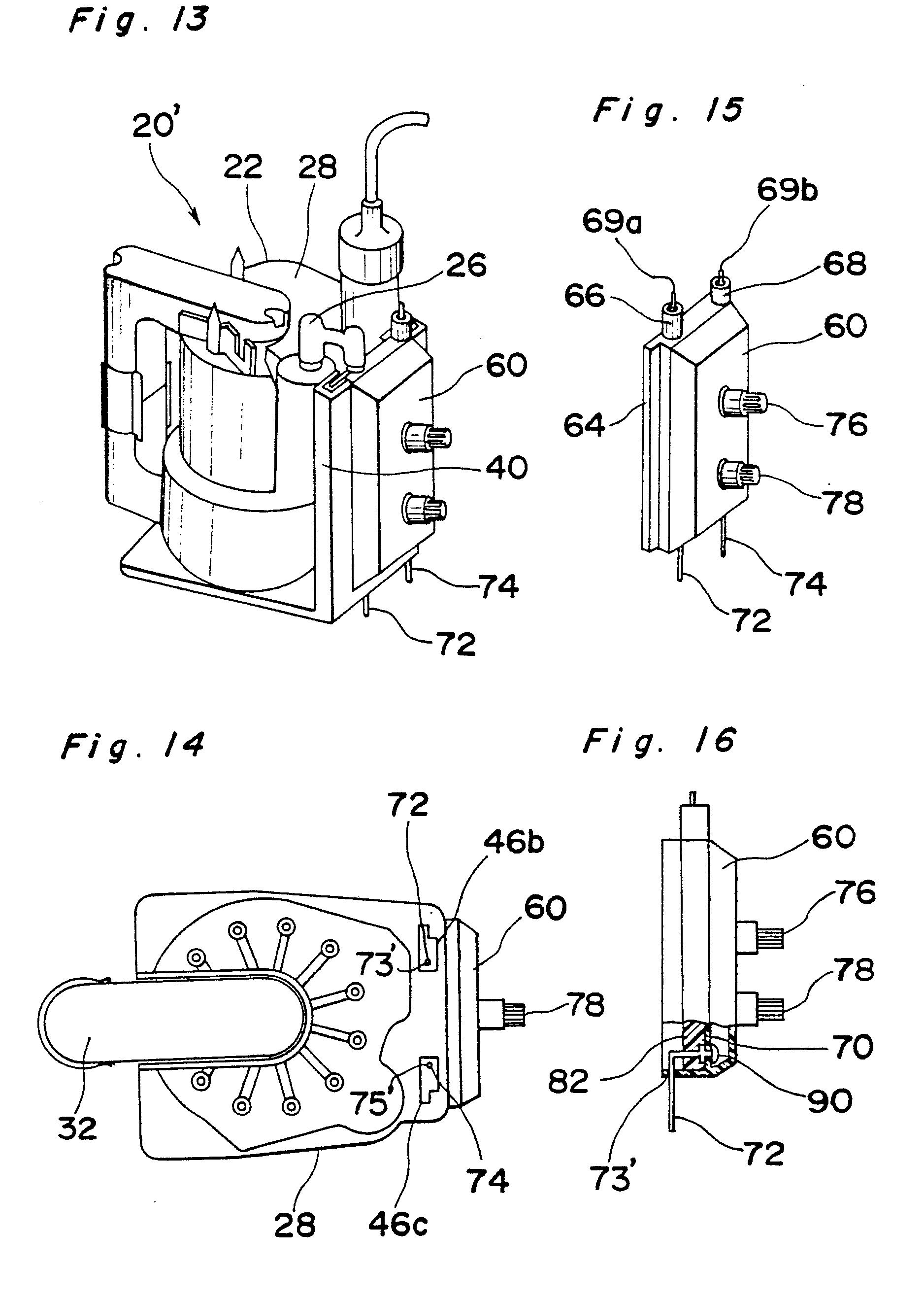 Patent Ep0068494b1 - Flyback Transformer