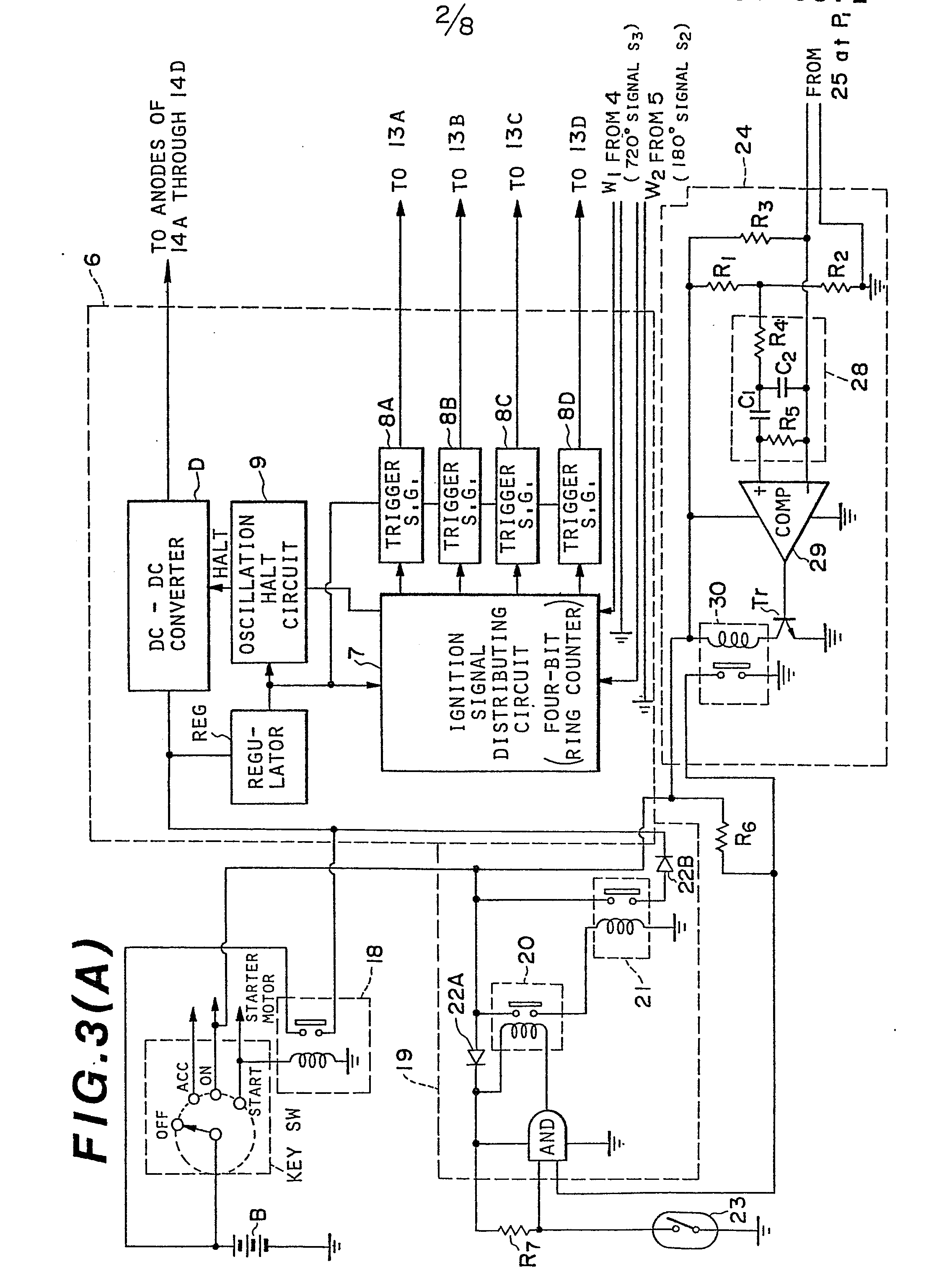 patent ep0075872a2 - an ignition system for subsidiarily starting a diesel engine